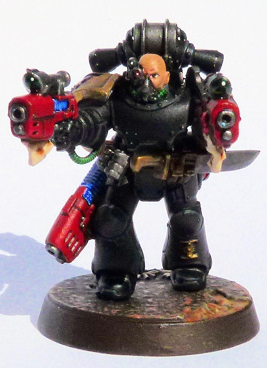 Doom Warriors Deathwatch Veteran Front