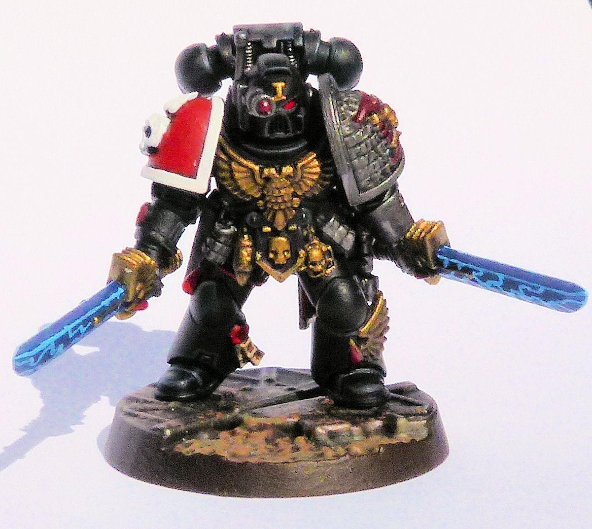 Carmine Blades Deathwatch Veteran Front
