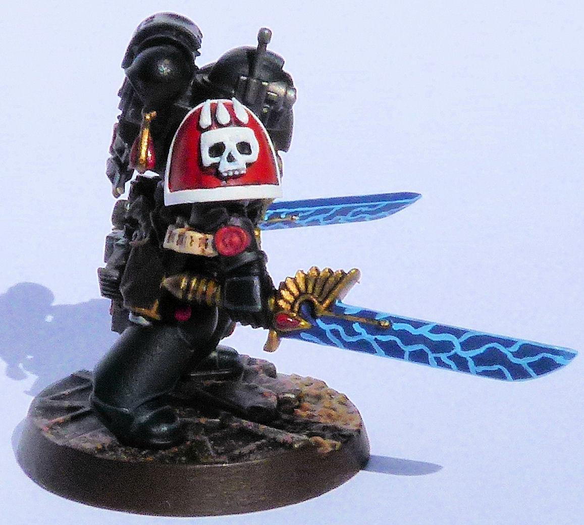 Carmine Blades Deathwatch Veteran Right Side
