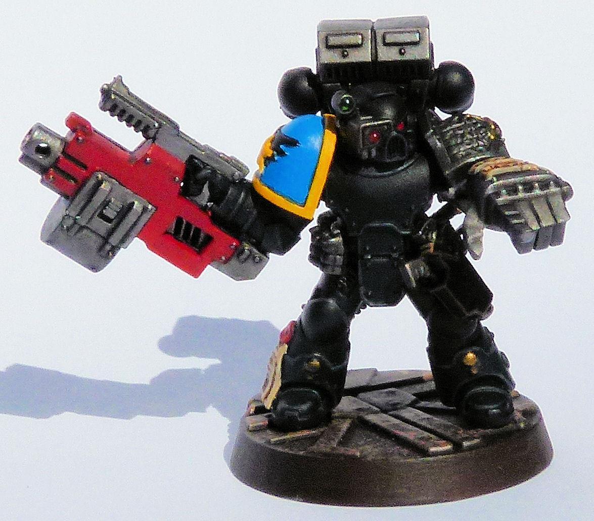 Heralds of Ultramar Deathwatch Veteran Front