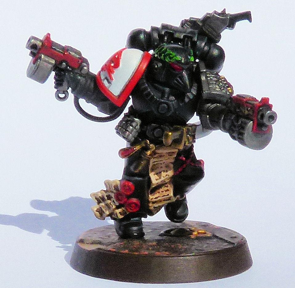 Storm Hawks Deathwatch Veteran Front