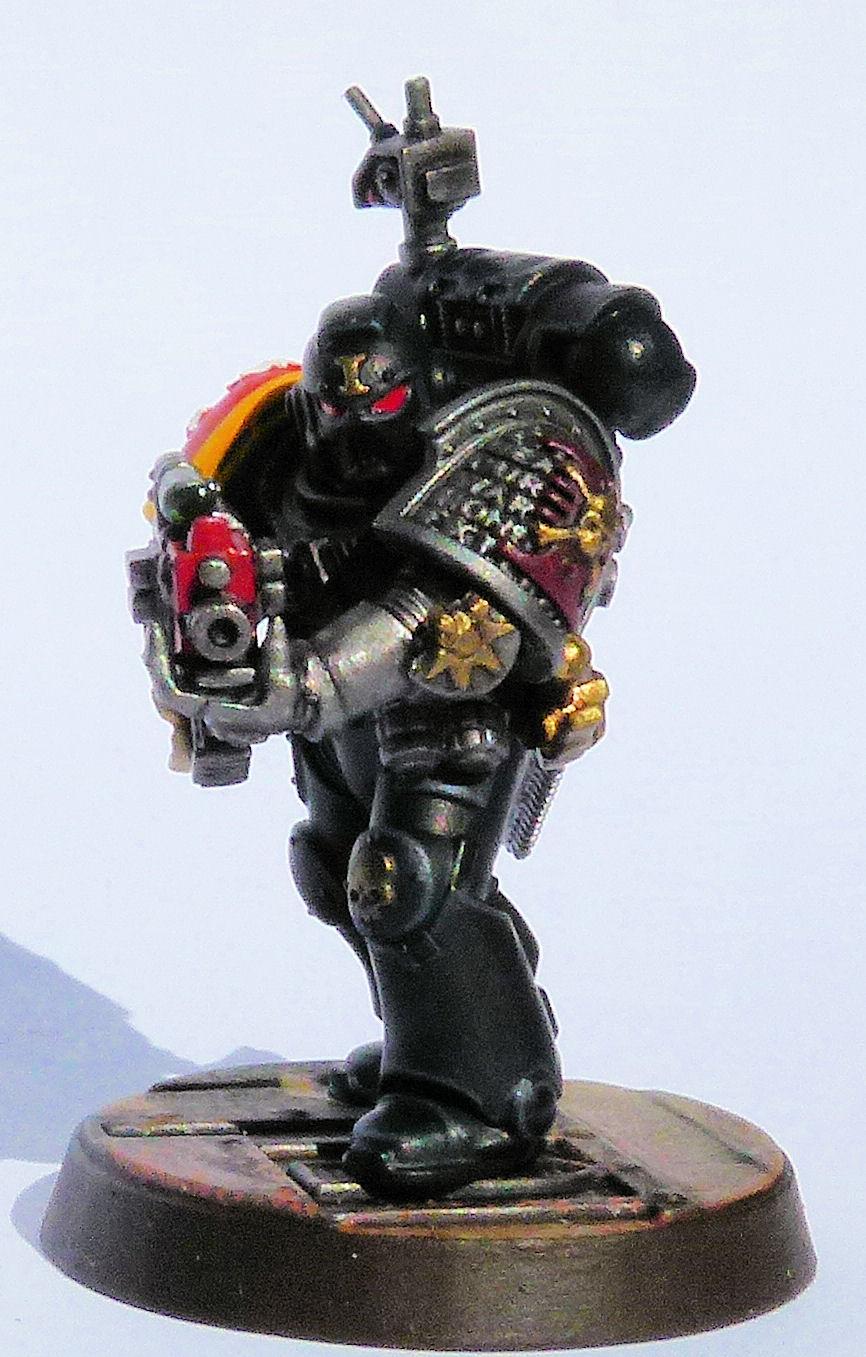 Imperial Talons Deathwatch Veteran Front