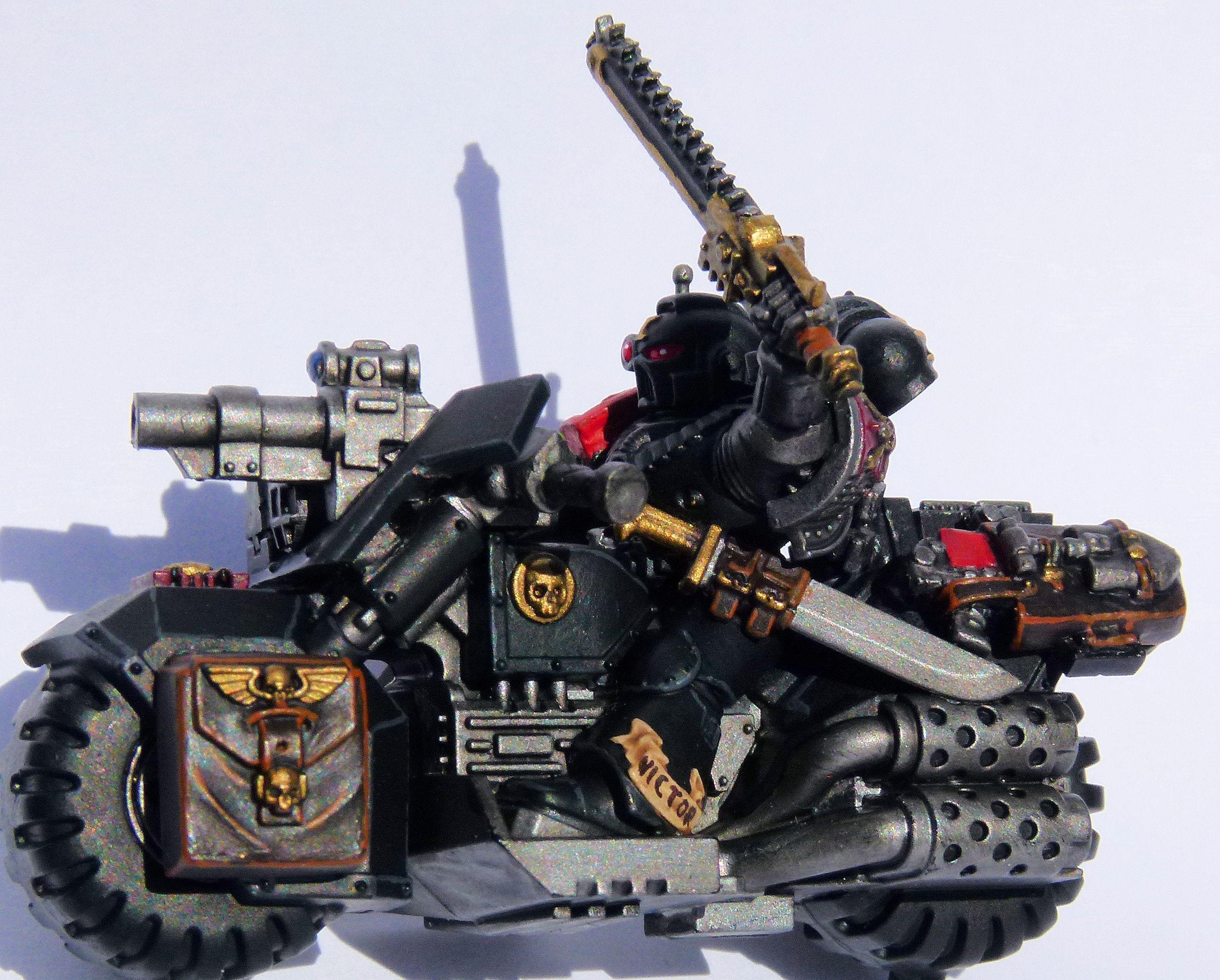 Blood Swords Deathwatch Veteran Biker Left Side