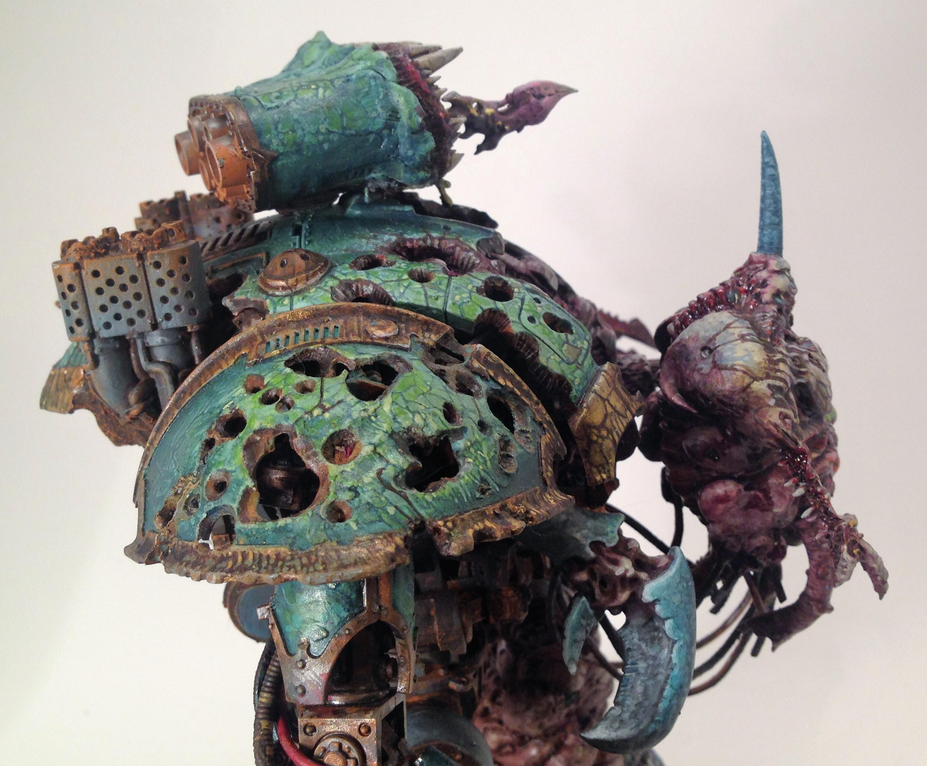 Imperial Knight Nurgle Chaos Converted, Warhammer 40,000