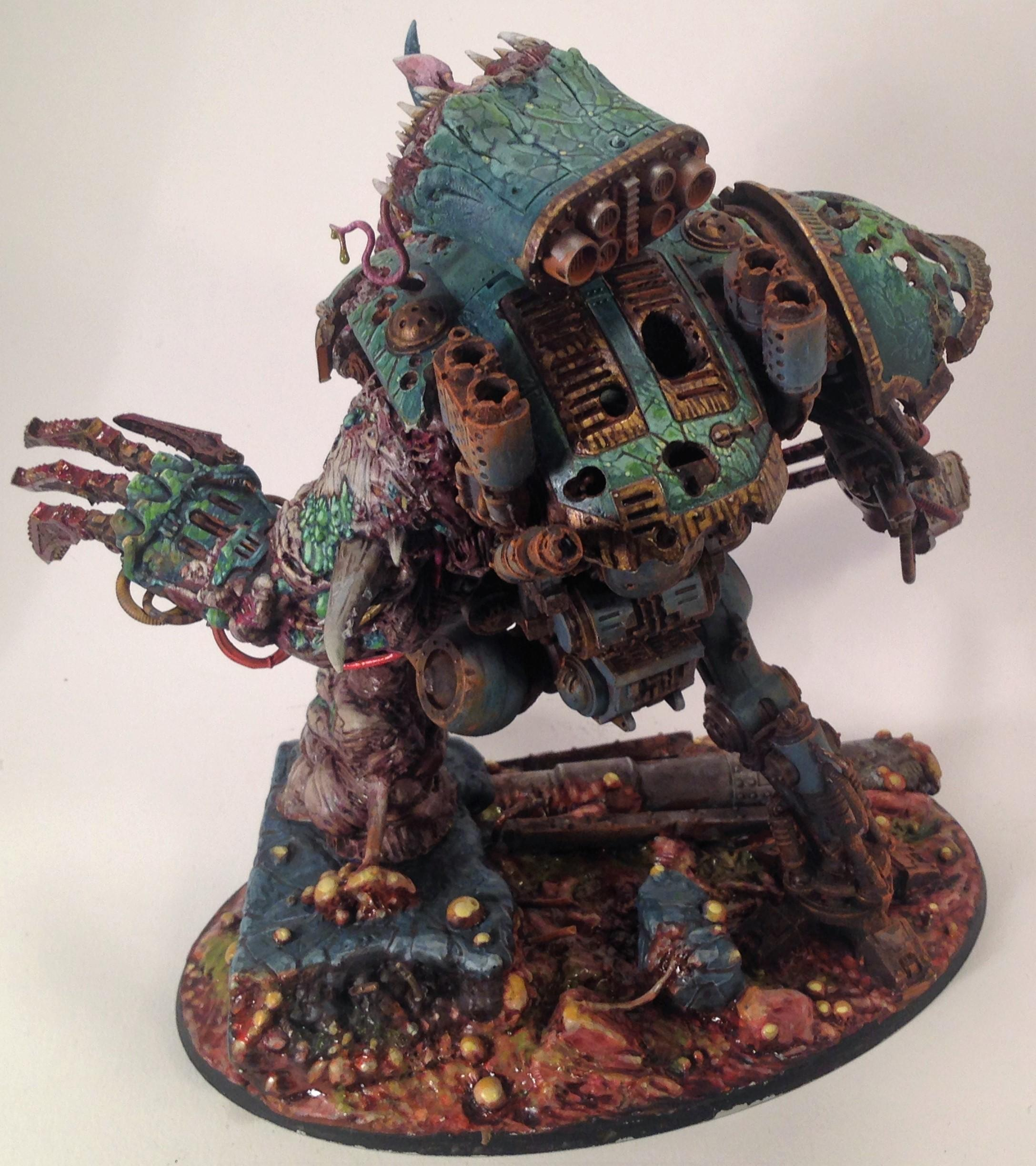 Imperial Knight Nurgle Chaos Converted