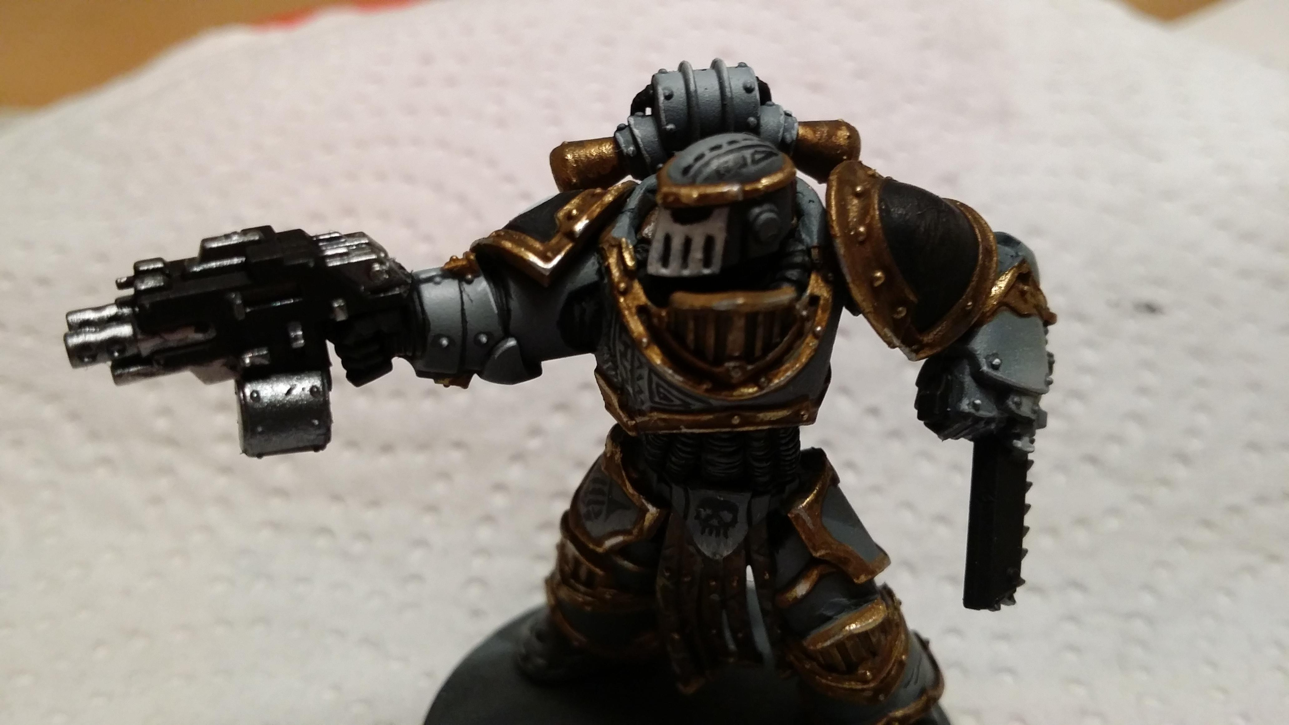 Carcharodons, Space Marines, Warhammer 40,000