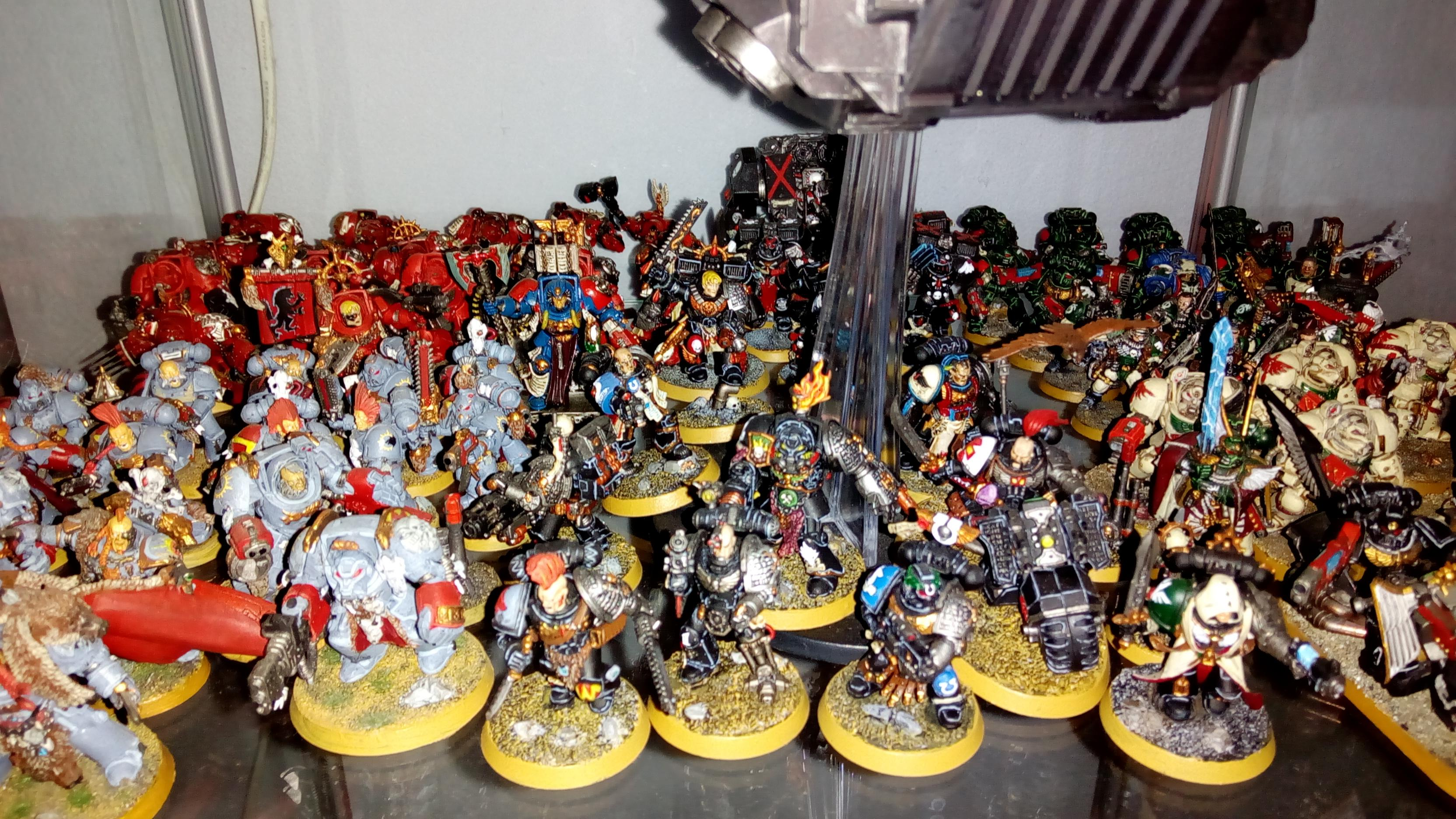 Chapters, Space Marines