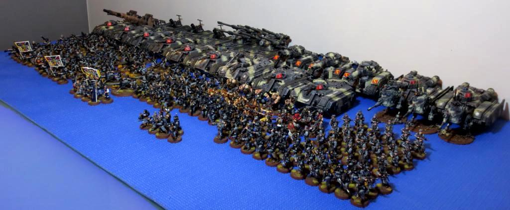 8th Regiment, Army, Astra Militarum, Captain Brown, Imperial Guard, My Necromundian Guard, Necromunda, Necromundan, Spiders