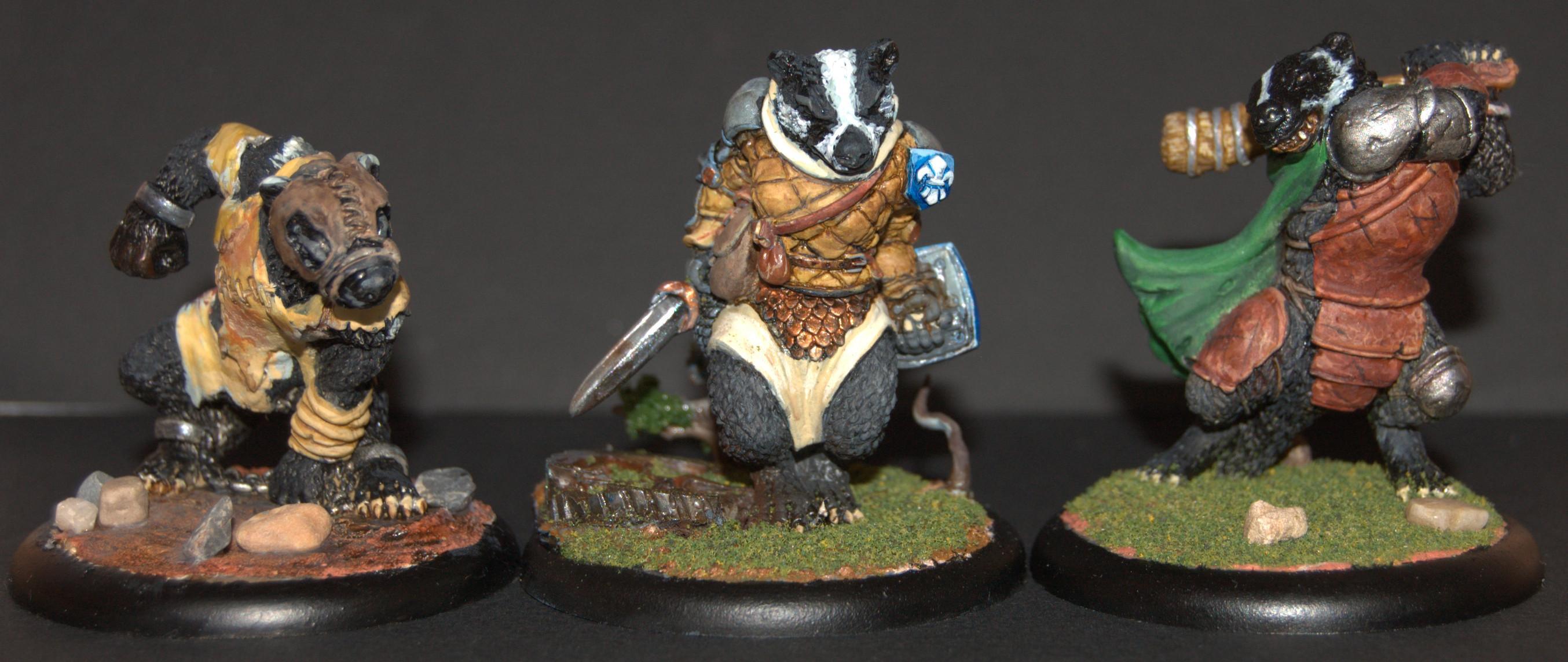 Badgers, Oathsworn, Warhammer Fantasy, Wereanimals