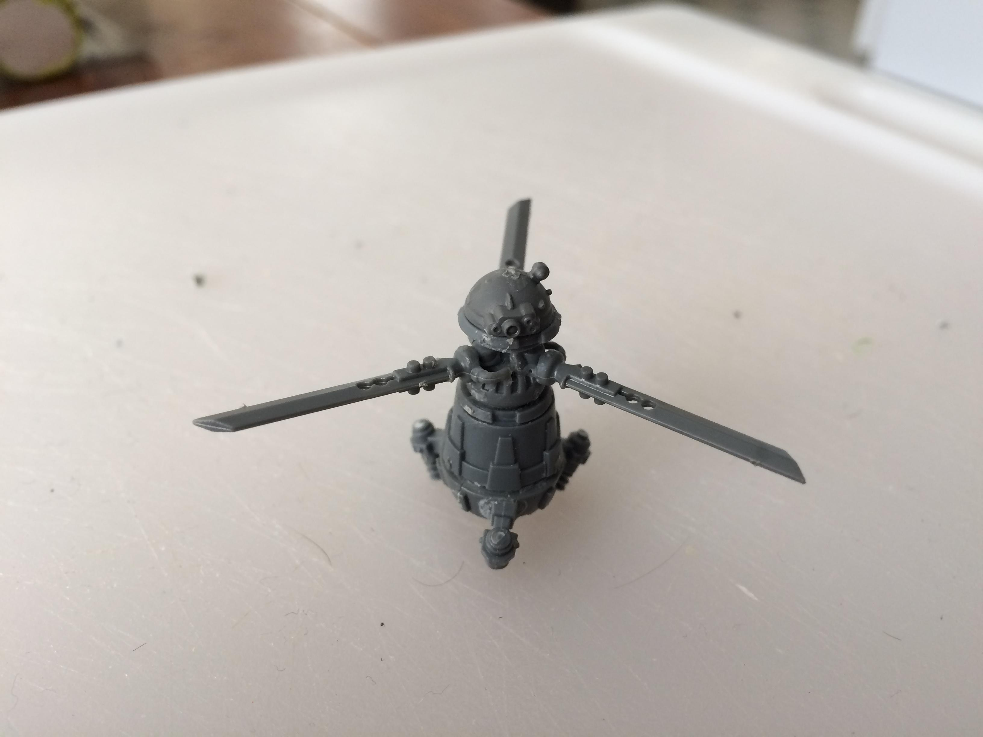 Drone, Kitbash, Mct-nissan Roto Drone, Roto Drone, Shadowrun