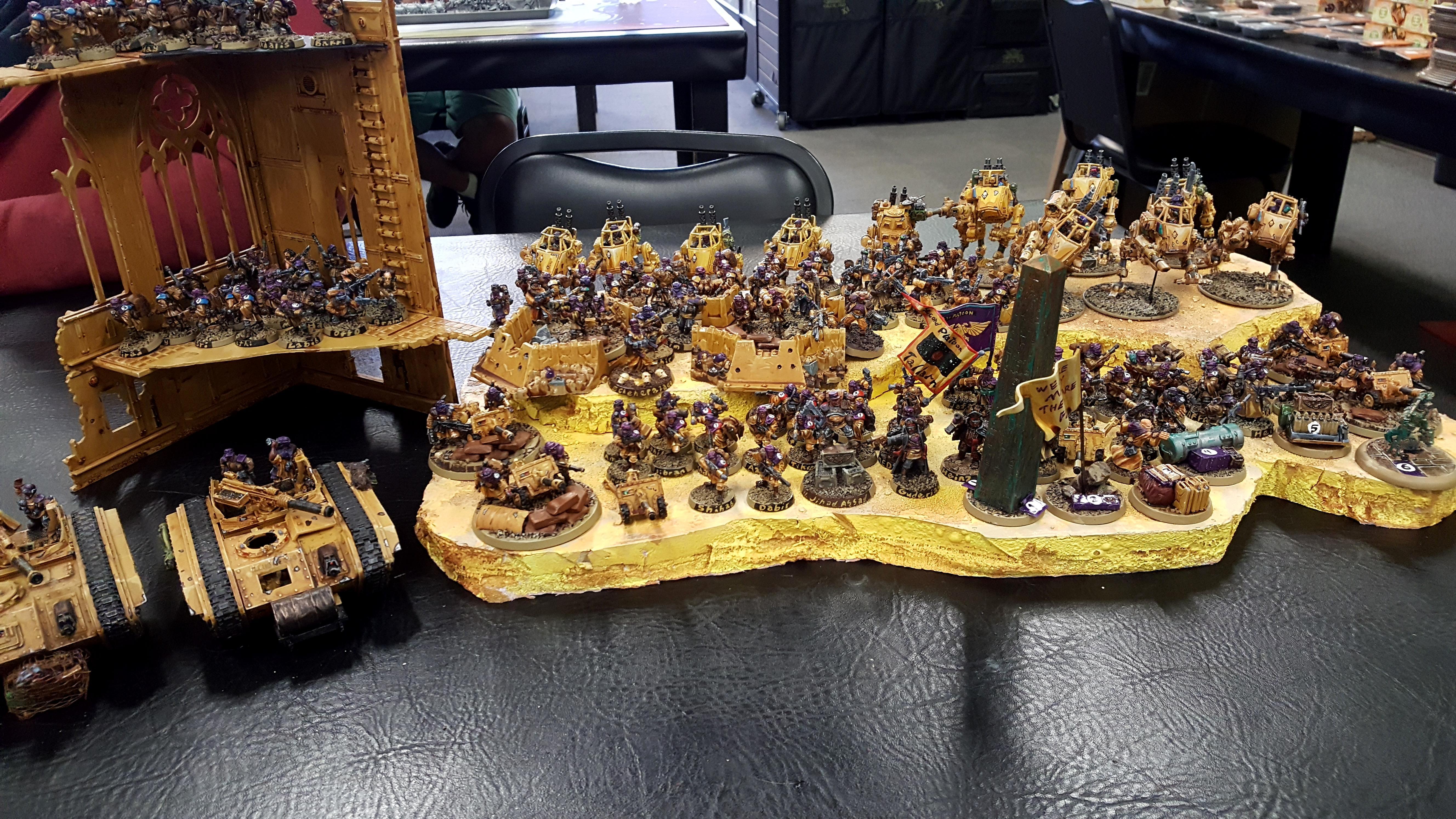 Imperial Guard, Sentinel, Tallarn 23rd, Tallarn Desert Raiders