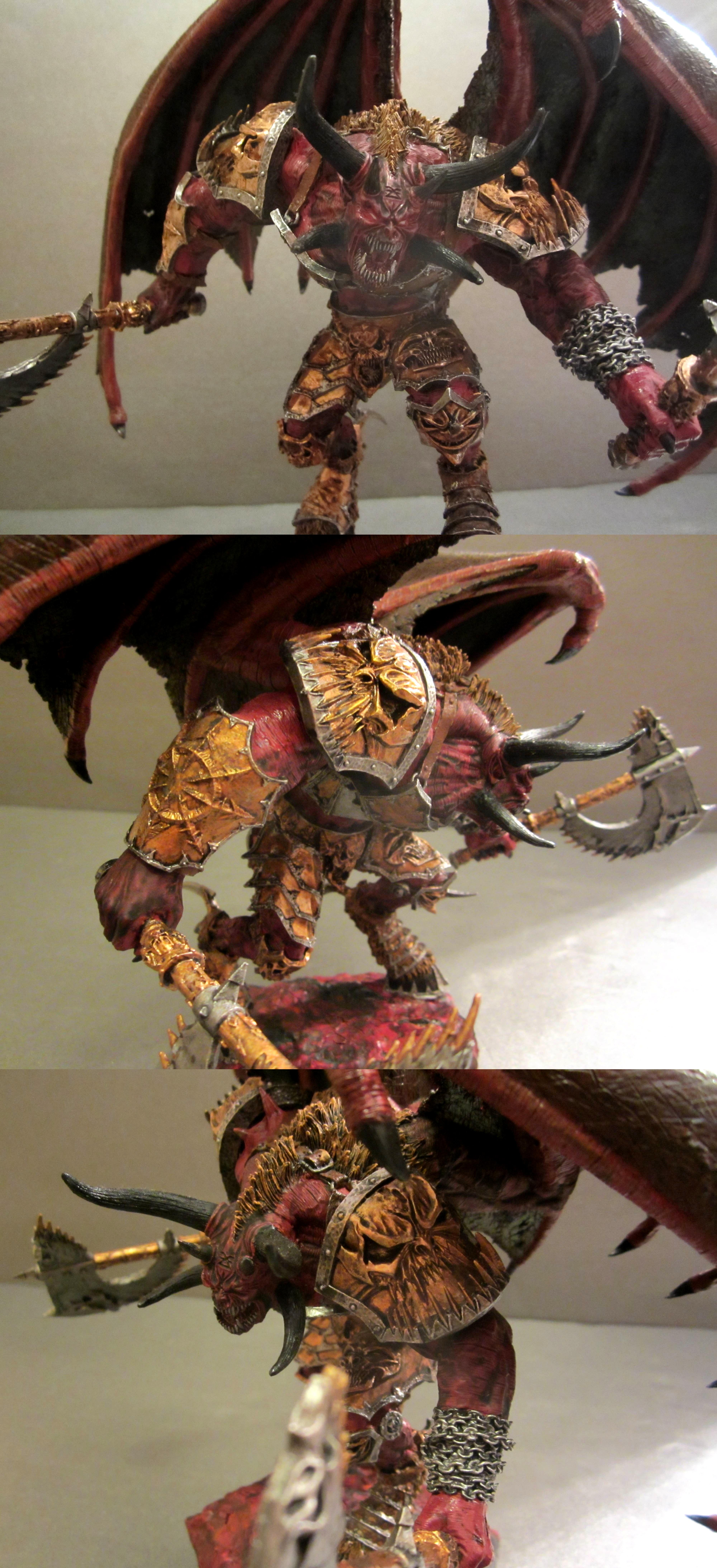 An'ggrath, Bloodthirster, Chaos, Chaos Space Marines, Daemonic, Daemons, Incursion, Ka'jagga'nath, Khorne, Lord, Skarbrand, Warhammer 40,000