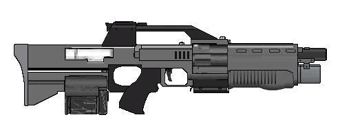 Ares Alpha, Assault Rifle, Shadowrun