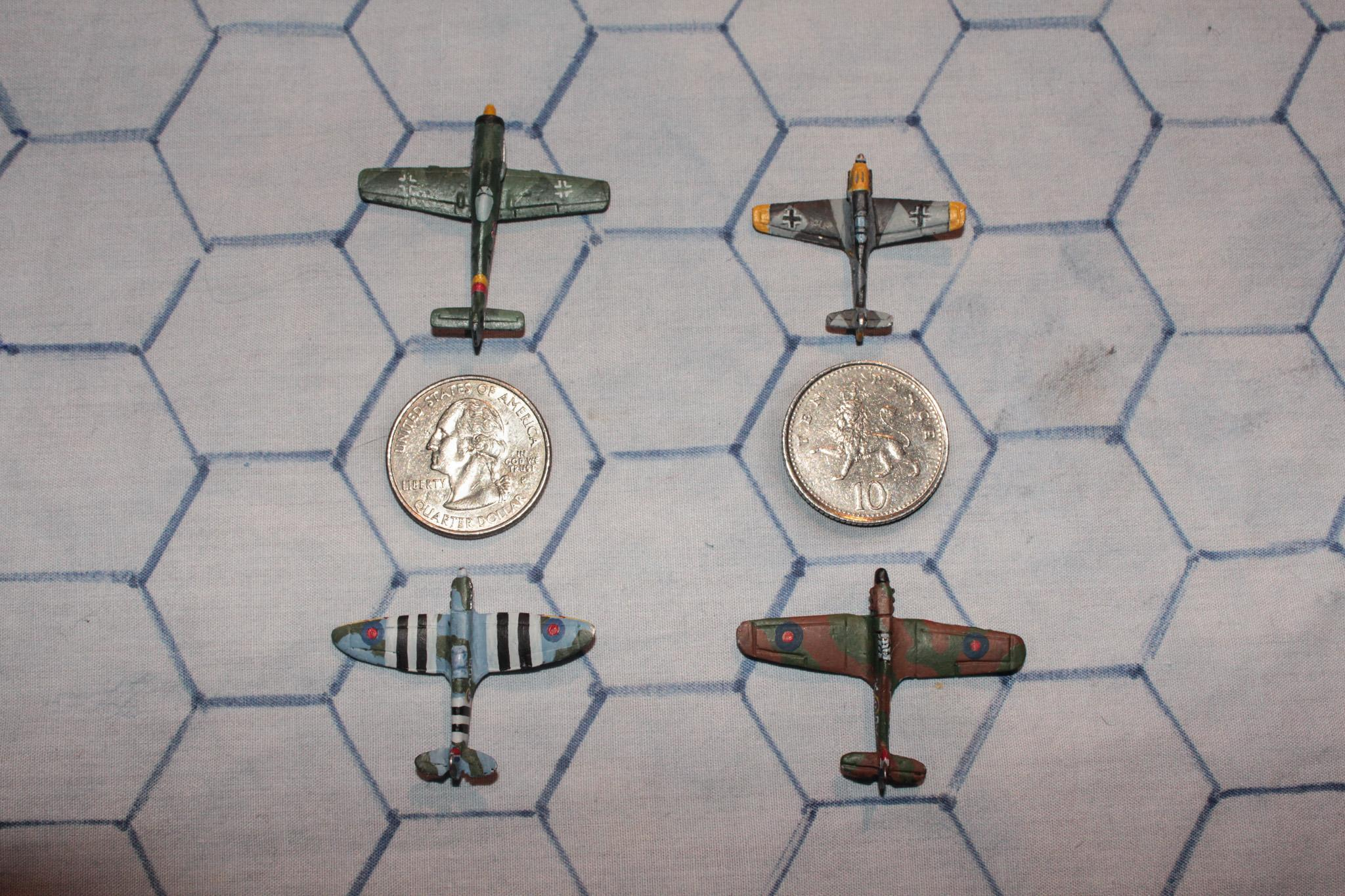 1:300, 6mm, Air Combat, Airborne, Aircraft, Airplane, Aviation, Check Your 6!, Fliers, Luftwaffe, Planes, World War 2