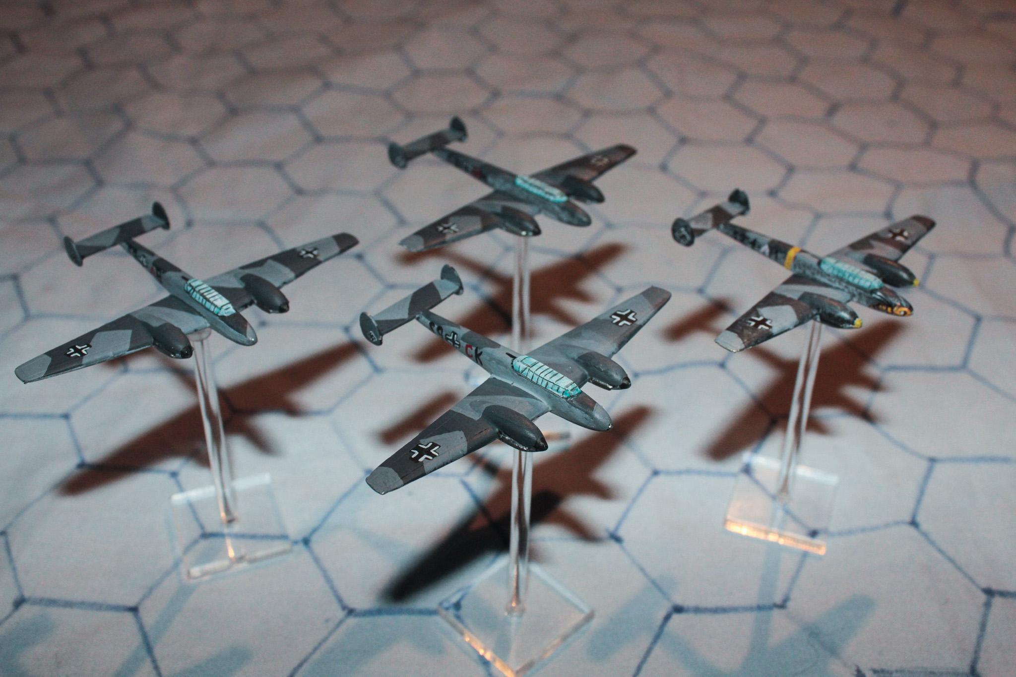 1:300, 6mm, Air Combat, Airborne, Aircraft, Airplane, Aviation, Check Your 6!, Fliers, Luftwaffe, Nazi, Planes, World War 2