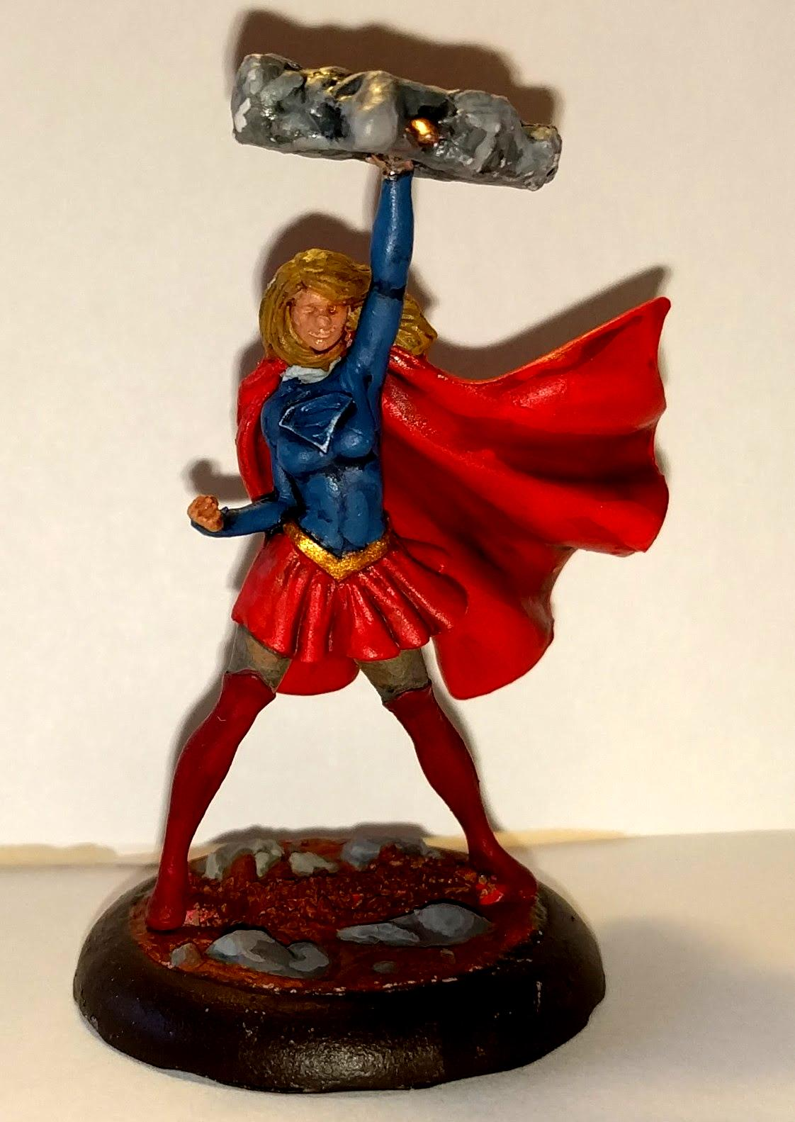 Dc, Knightmodels, Supergirl, Superman