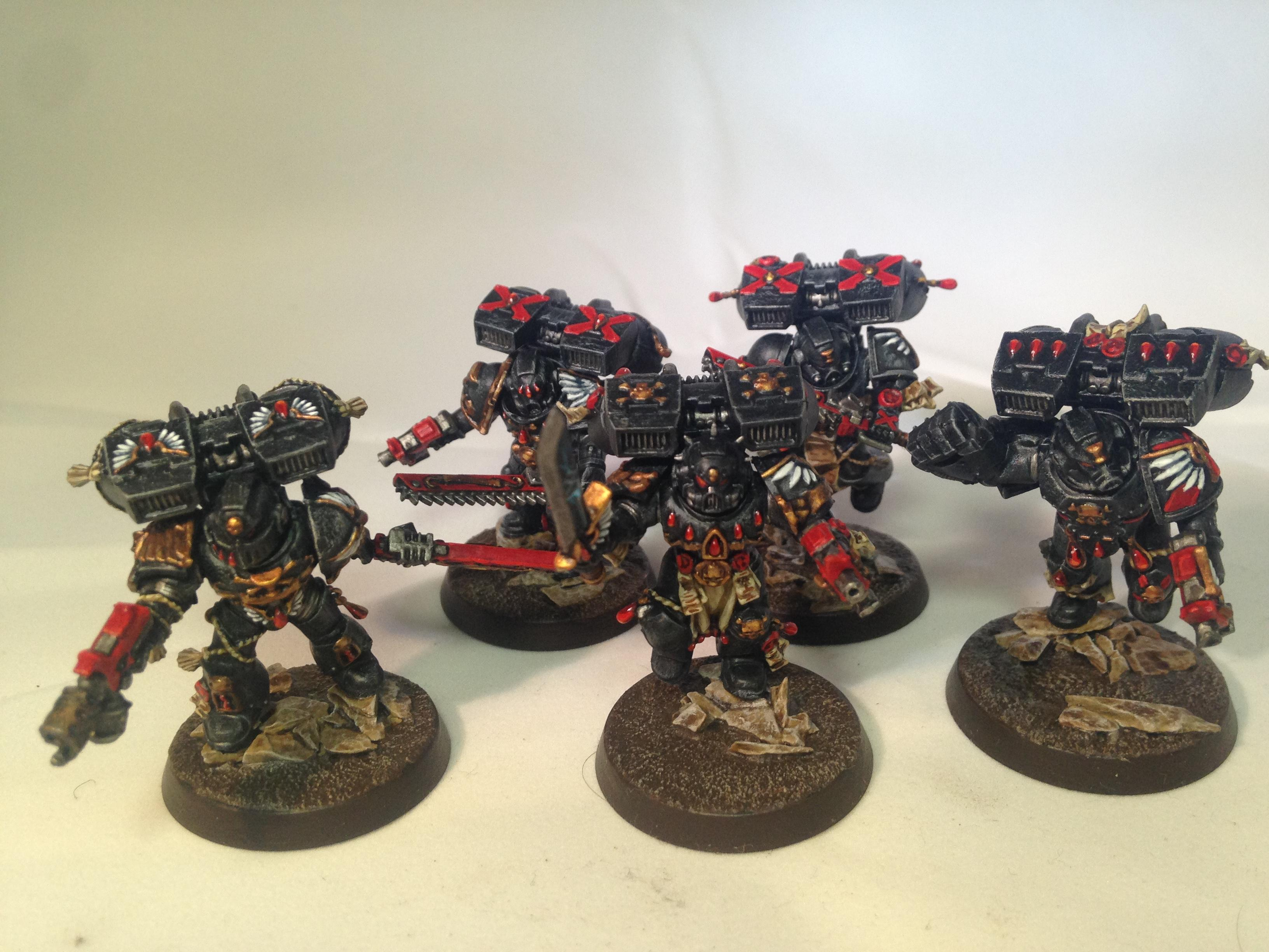 Blood Angels, Death Company, Hand Flamer, Jump Pack, Power Fist, Power Sword