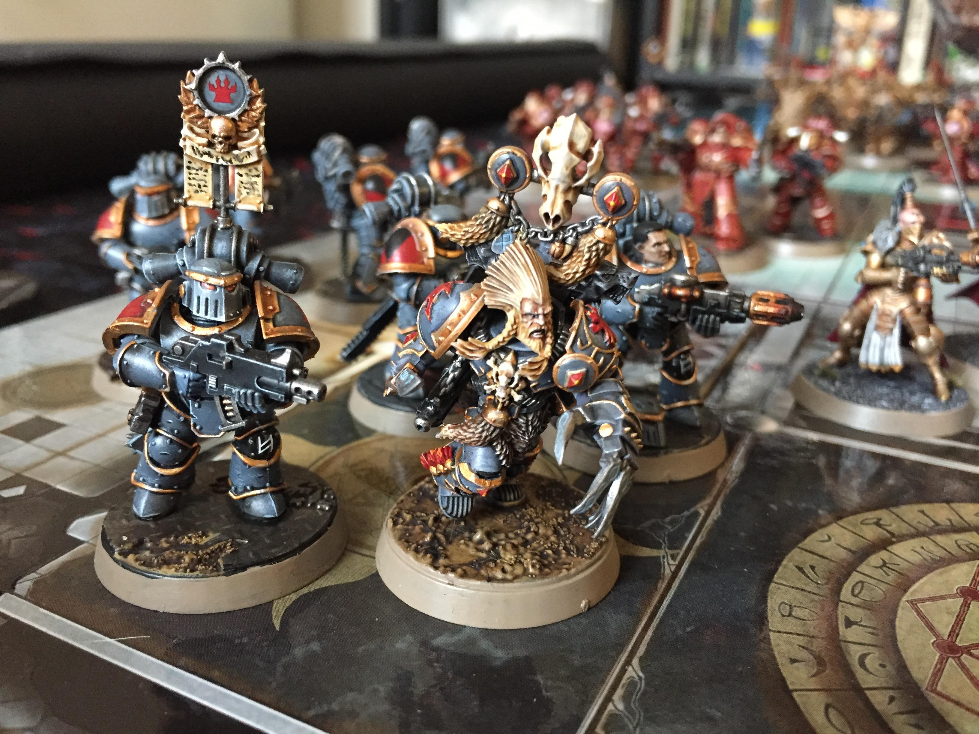 Custodes, Horus Heresy, Renegade, Sister Of Silence, Thosandson, Warhammer30k