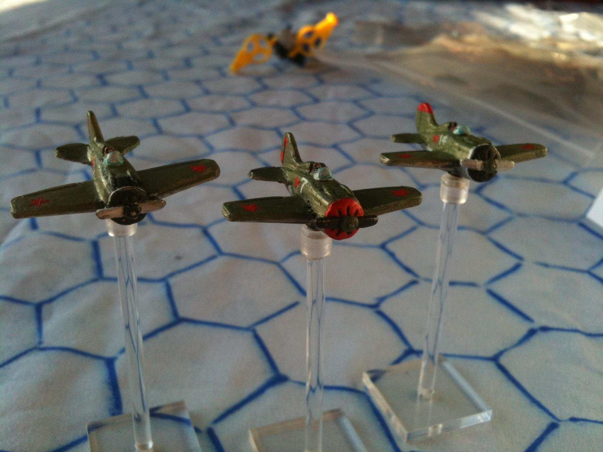 1:300, 1:300 Scale, 6mm, 6mm Scale, Air Combat, Airborne, Aircraft, Airplane, Aviation, Check Your 6!, Finland, Fliers, I-16, Planes, Republic Of China, Russians, Soviet, World War 2
