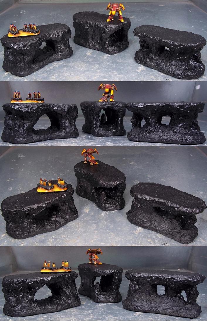 Dropzone Commander, Dzc, Lava, Terrain, Volcano