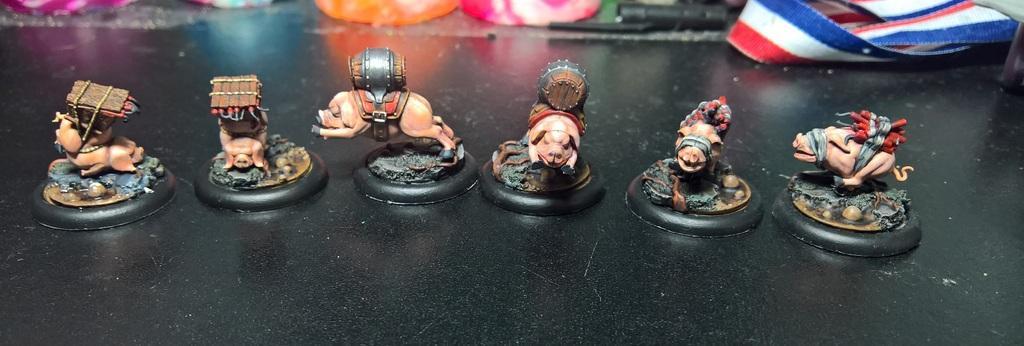 Gremlins, Malifaux, Pigs