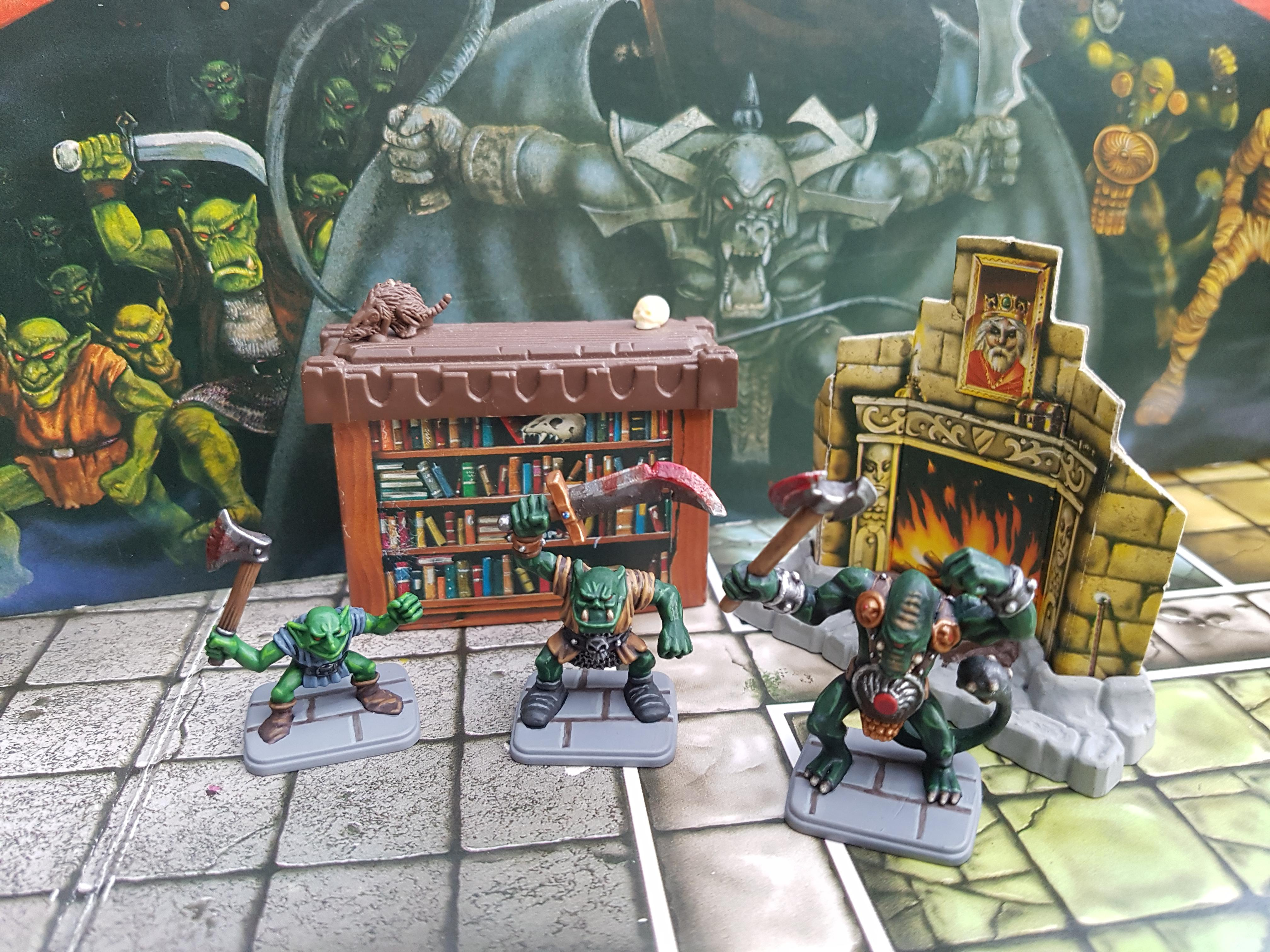 Fimir, Goblins, Hero Quest, Orks