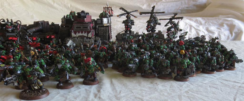 Captain Brown, Gretchin, Ork Army, Orks, Waaagh
