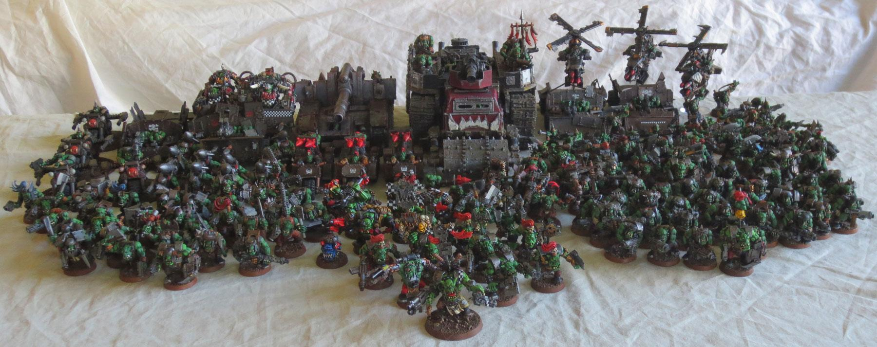 Captain Brown, Captain Brown's Ork Waaagh, Gretchin, Orks, Waaagh