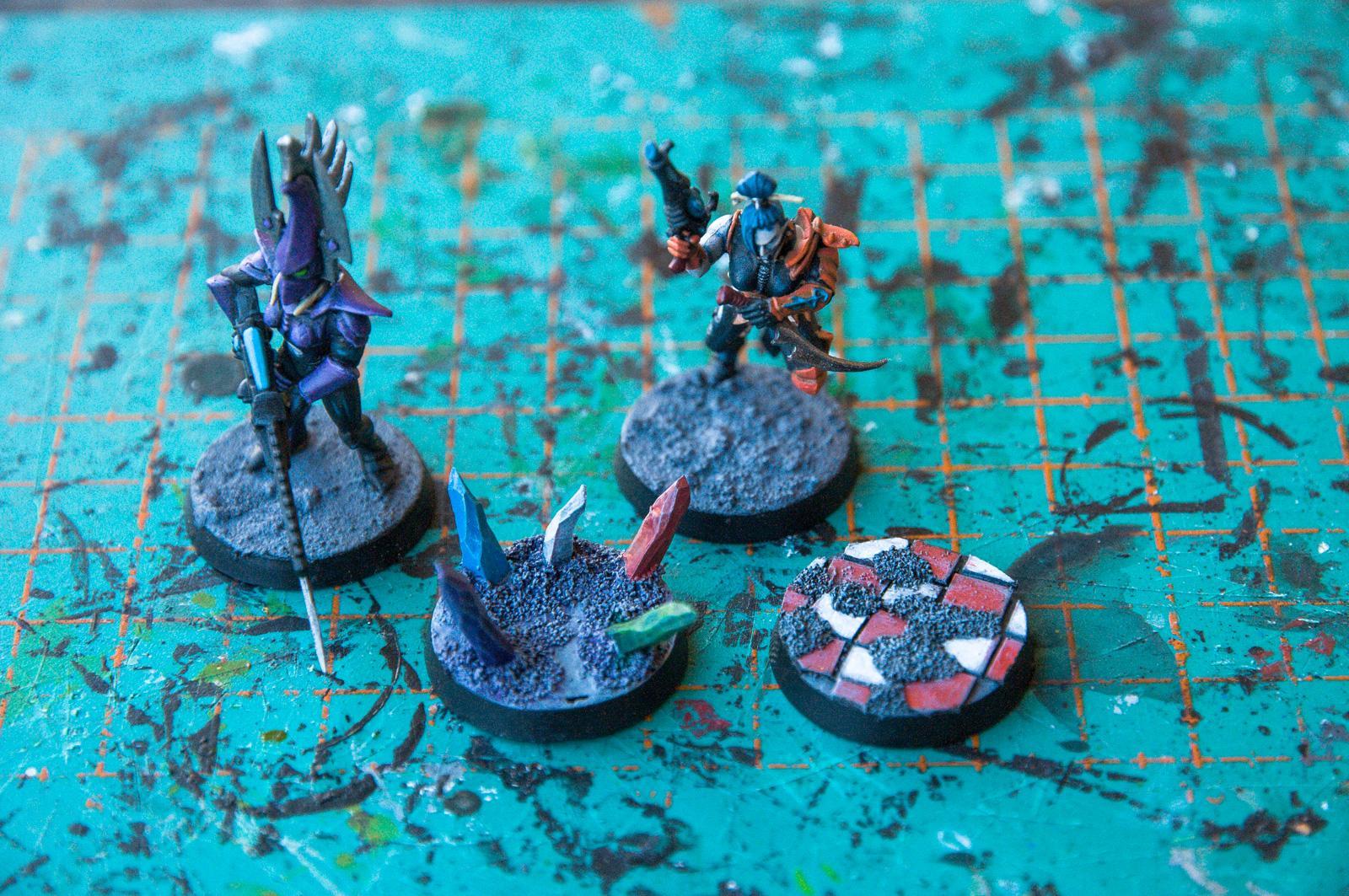 Base, Dark Eldar, Kabalite Warriors, Work In Progress, Works In Progress, Wyches