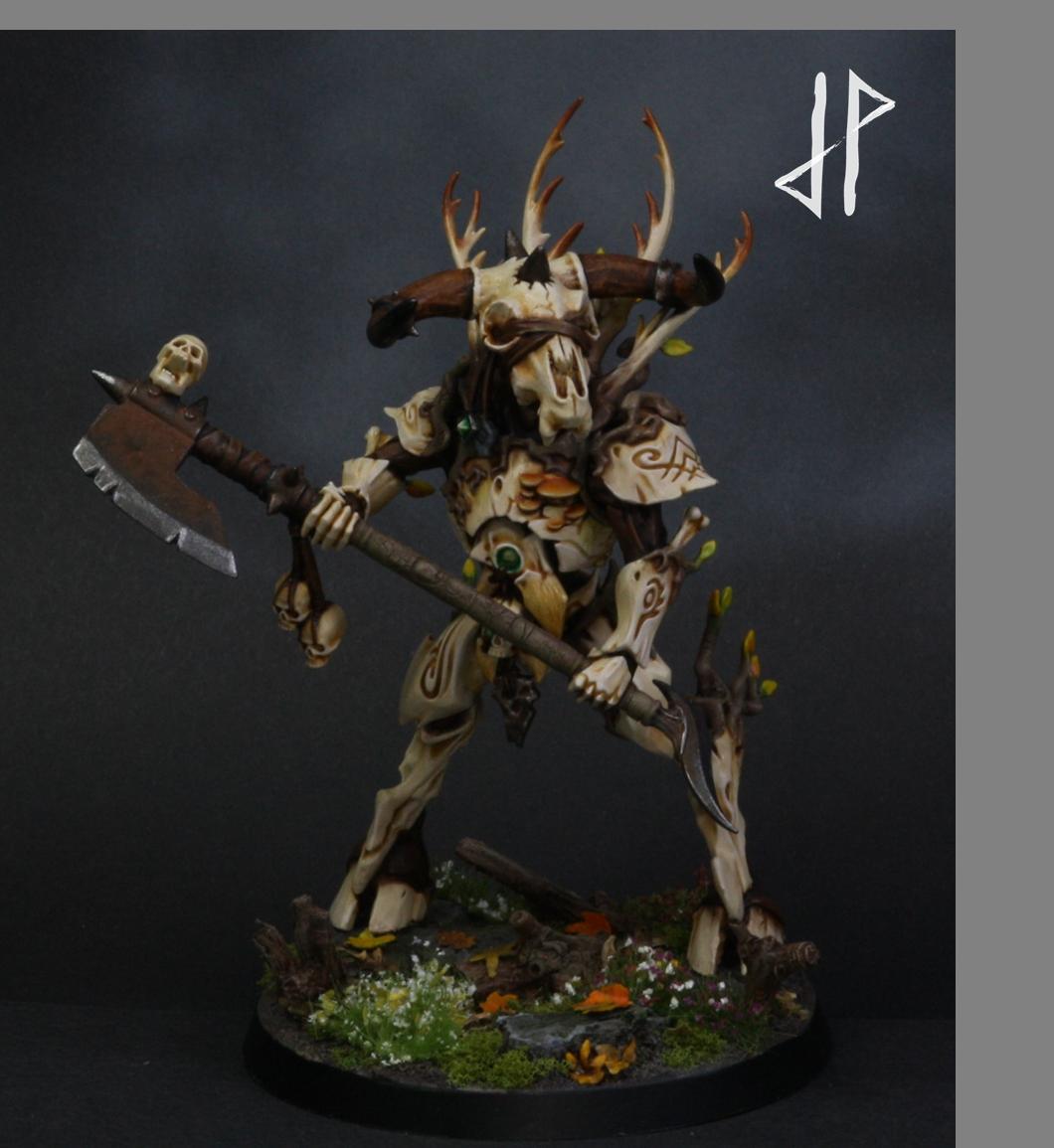 Age Of Sigmar, Beastmen, Construct, Minotaur, Warhammer Fantasy