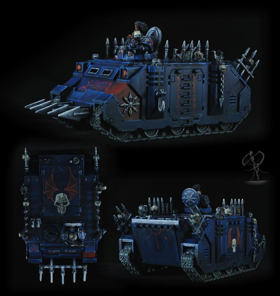 Chaos, Chaos Space Marines, Night Lords, Non-Metallic Metal, Space Marines, Undivided