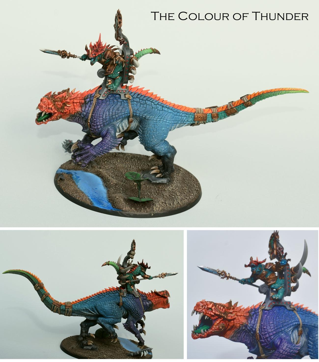 Carnosaur, Colour, Colour Scheme, Fade, Lizardmen, Seraphon