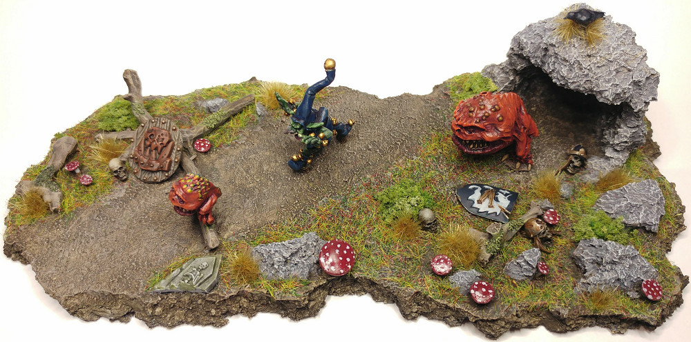 Diorama, Goblins, Squigs