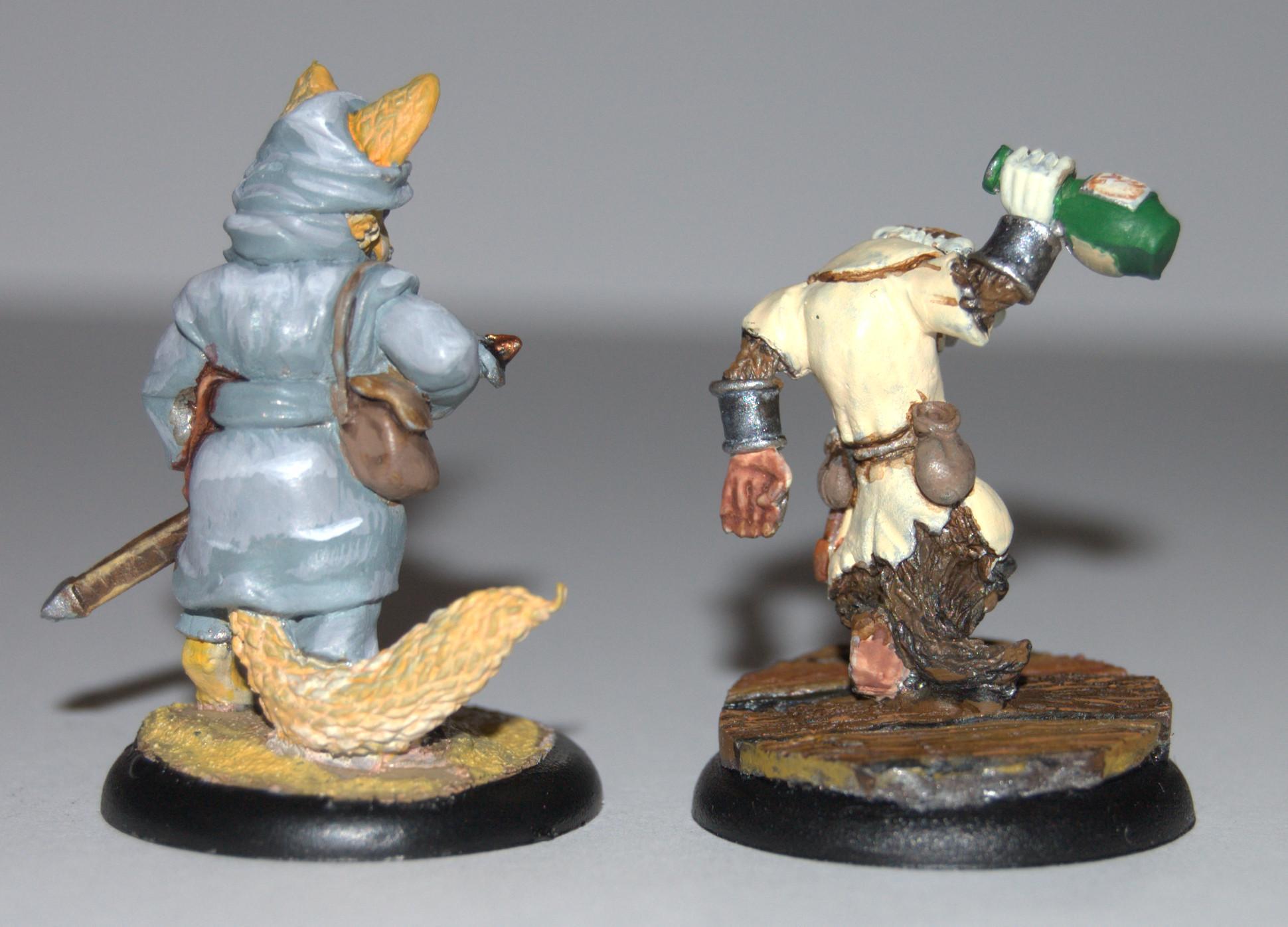 Oathsworn, Warhammer Fantasy, Wereanimals