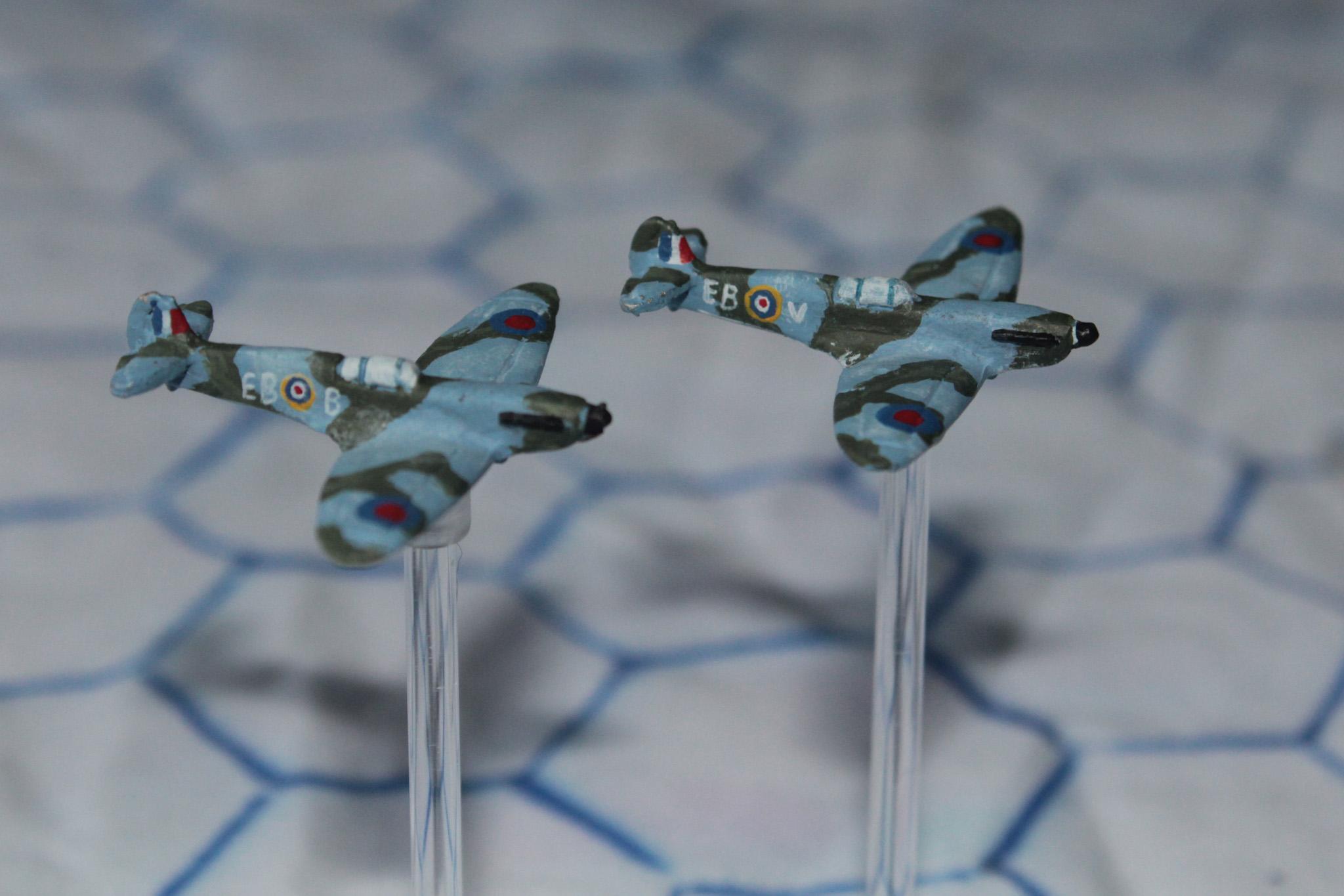 1:300, 6mm, Airborne, Aircraft, Airplane, Aviation, Check Your 6!, Fliers, Plane, Planes, Raf, Spitfire, World War 2
