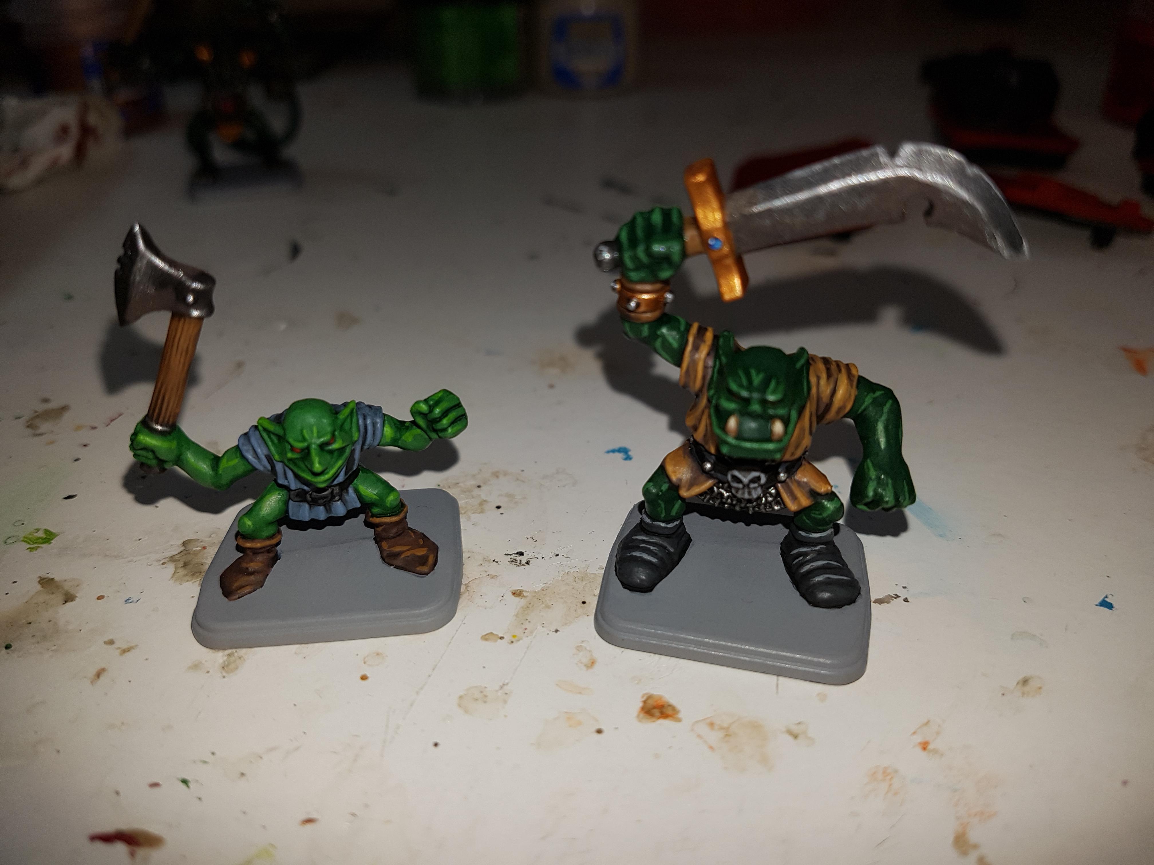 Goblins, Greenskins, Heroquest, Orcs
