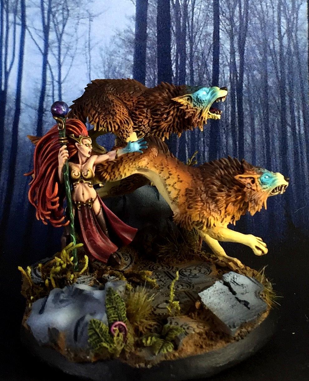 Elven, Elvish, Witch, Wolf, Wolves