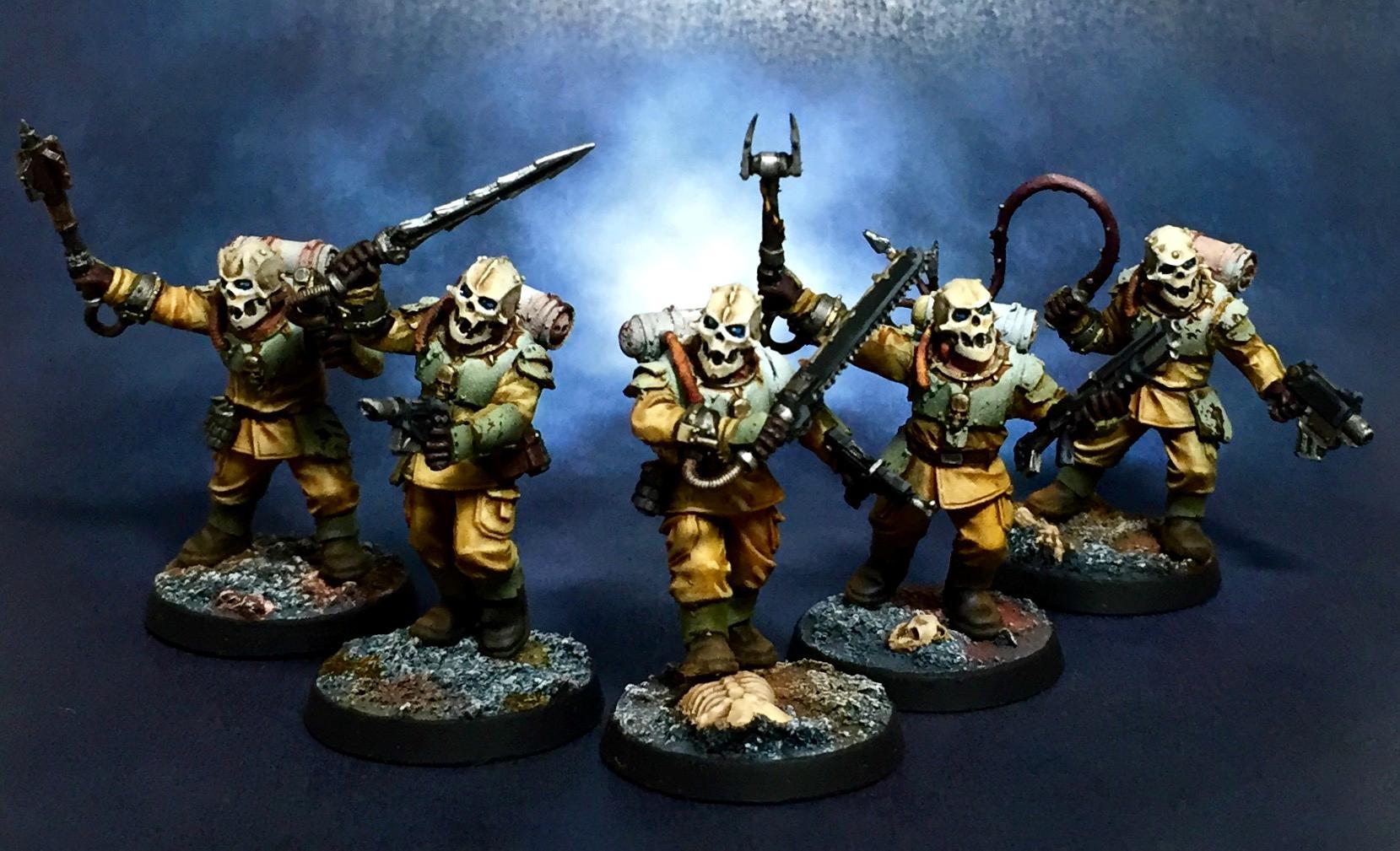 Guard, Medusa, Nurgle, Rust, Traitor