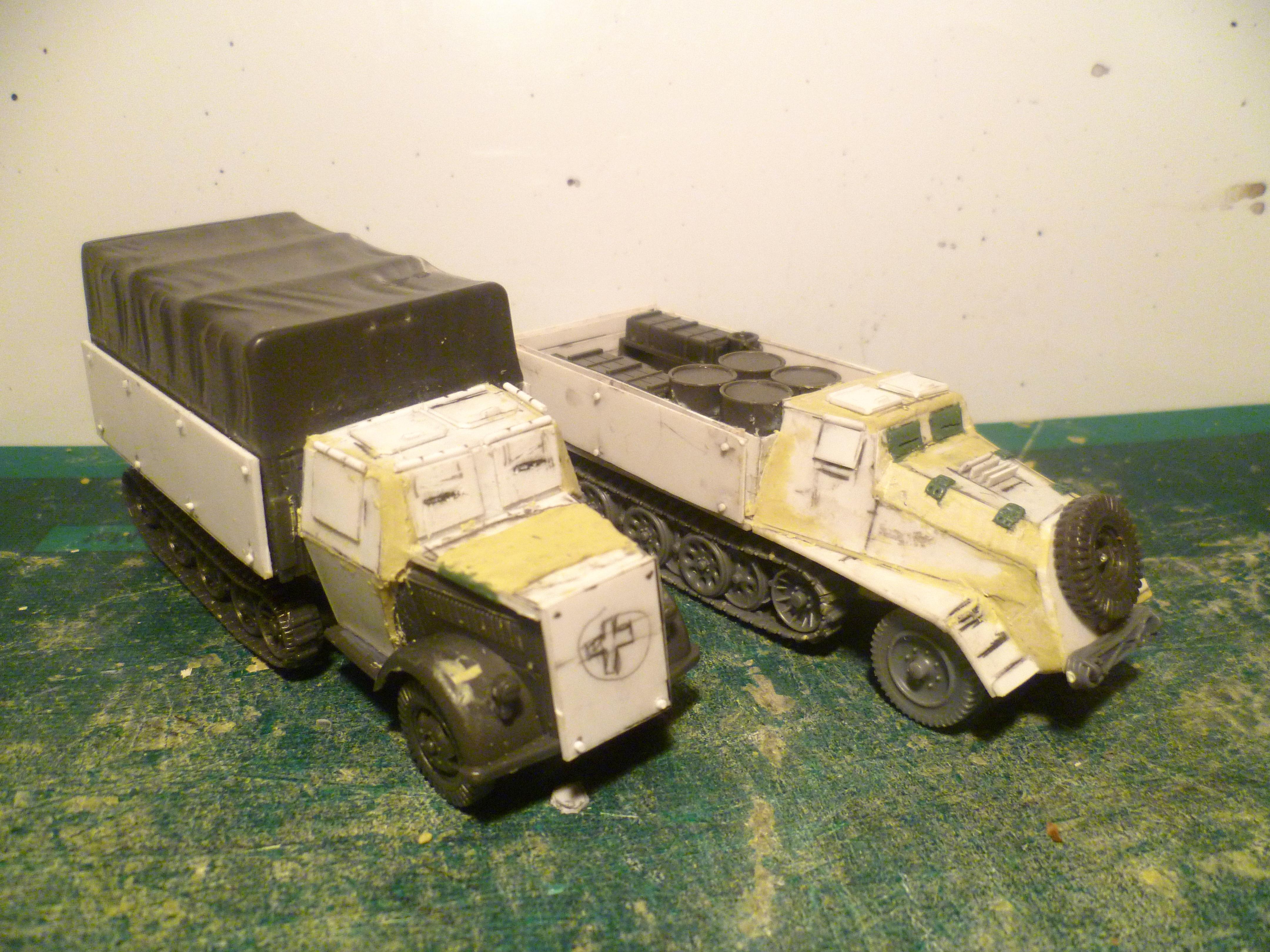 Cargo, Civilian, Conversion, Truck, World War 2
