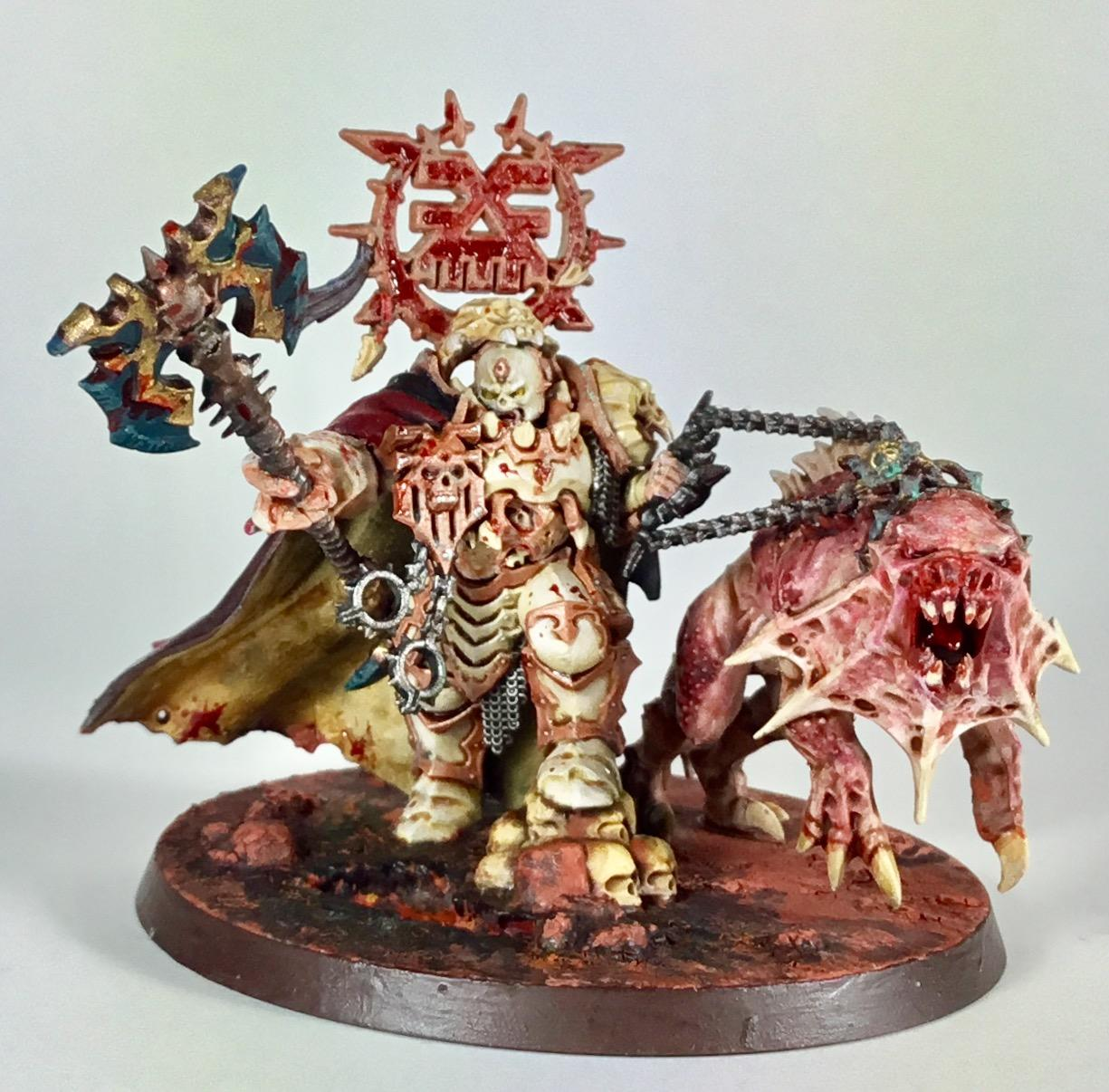Age Of Sigmar, Age Of Sigmas, Blood, Bloodbound, Chaos, Conversion, God, Hero, Hound, Khorne, Lord, Mighty, Proxy, Red