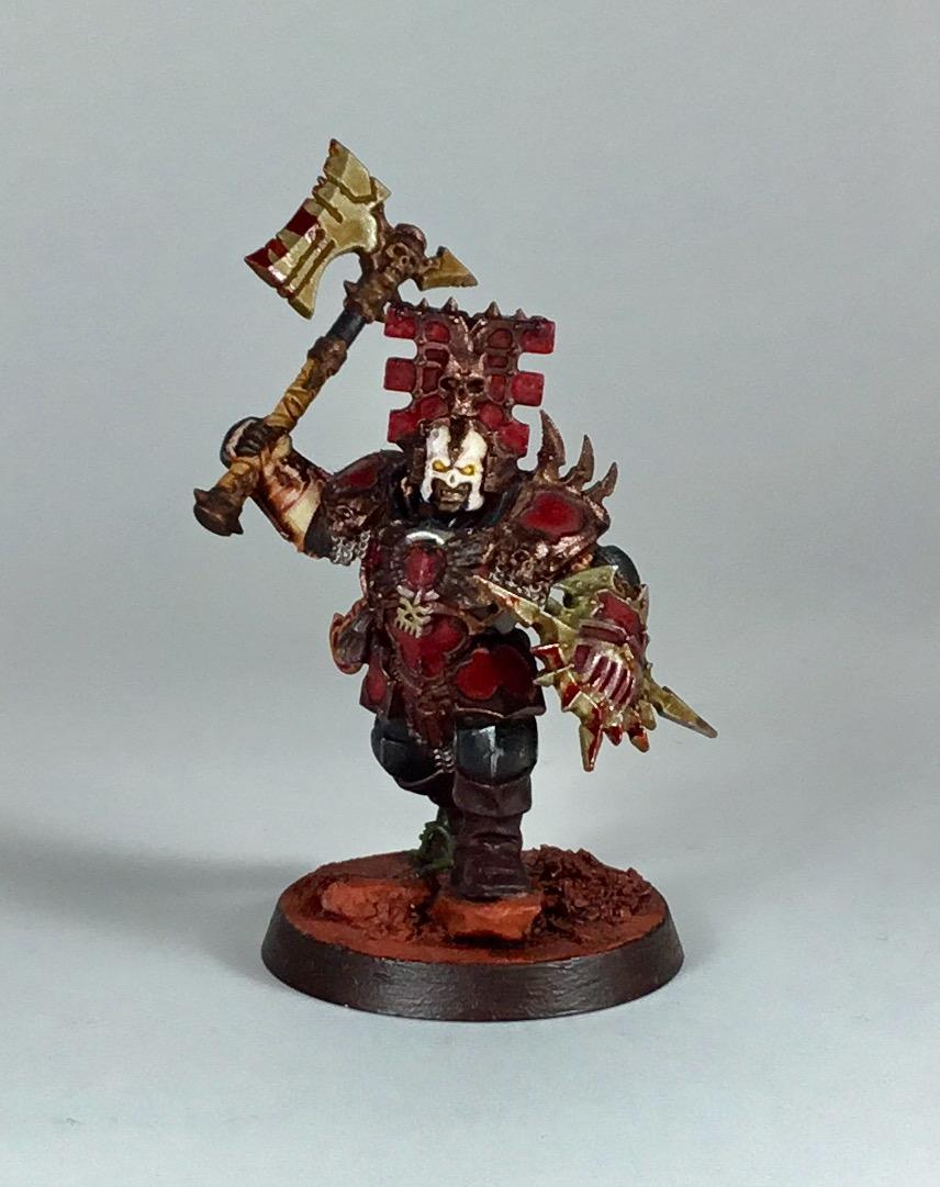 Age Of Sigmar, Age Of Sigmas, Blood, Bloodbound, Born, Chaos, Conversion, God, Khorne, Proxy, Red, Warriors