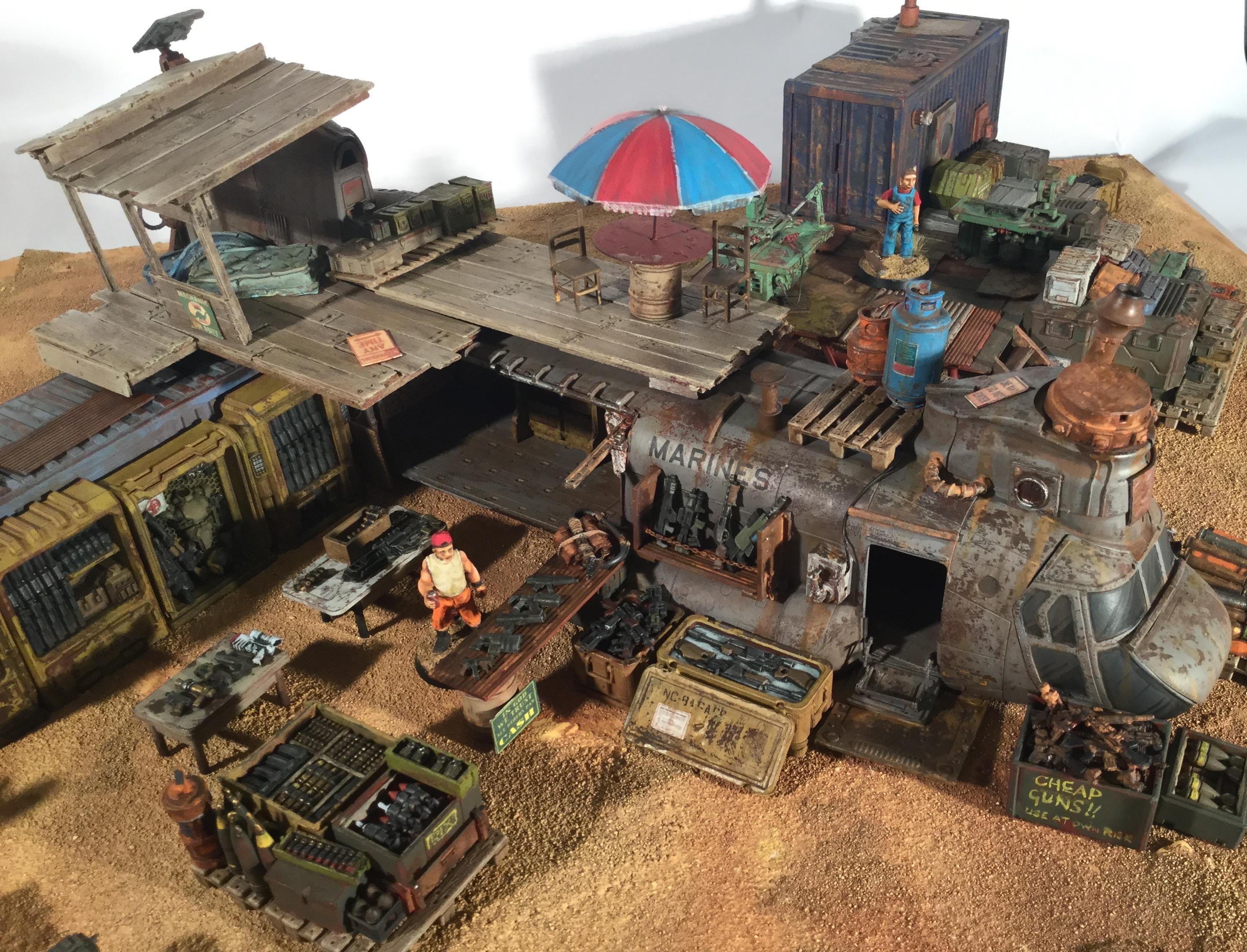 Fallout, Future Wars, Post Apocalypse, Rust, Terrain