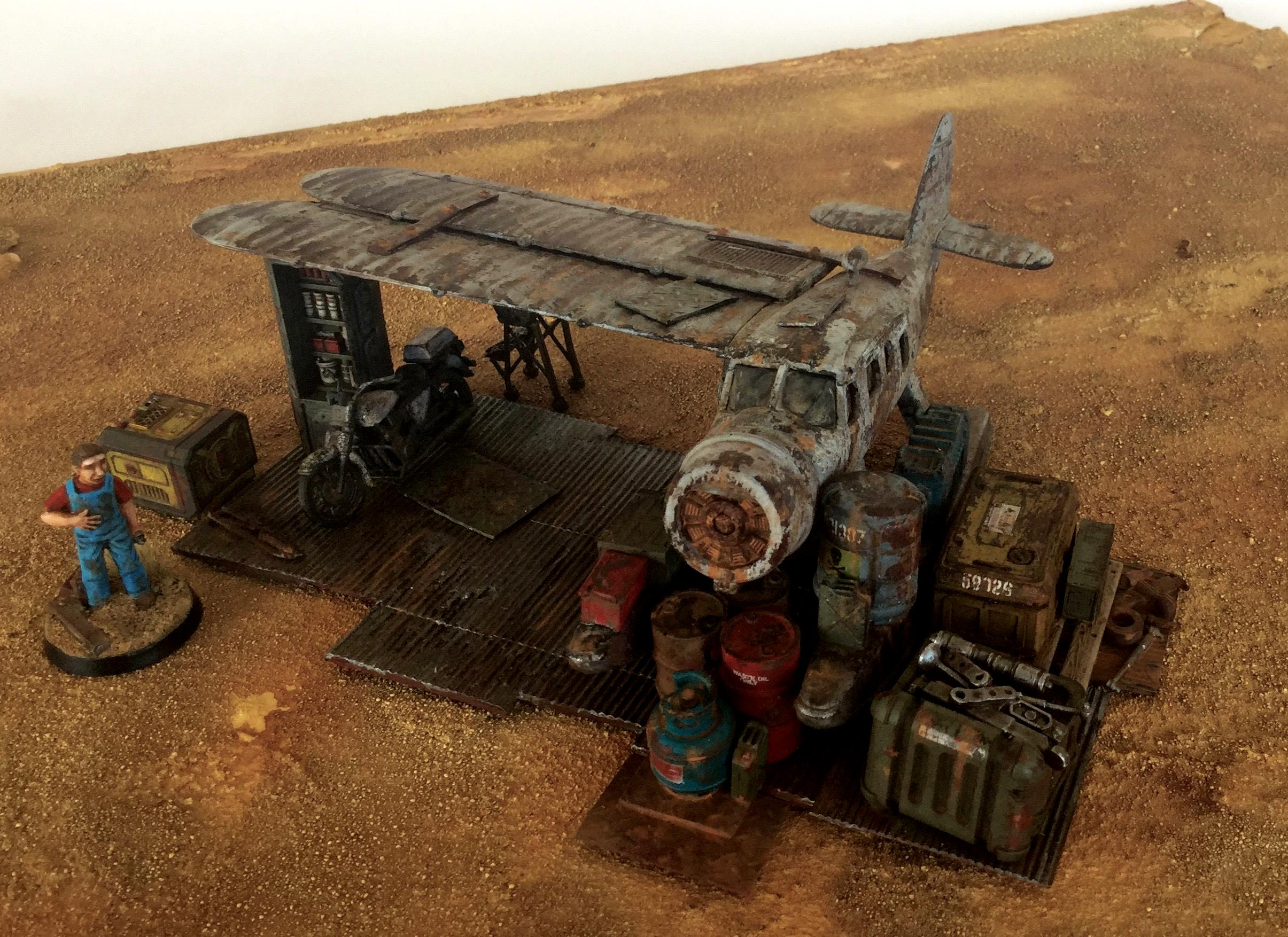 Fallout, Future Wars, Post Apocalypse, Rust, Terrain