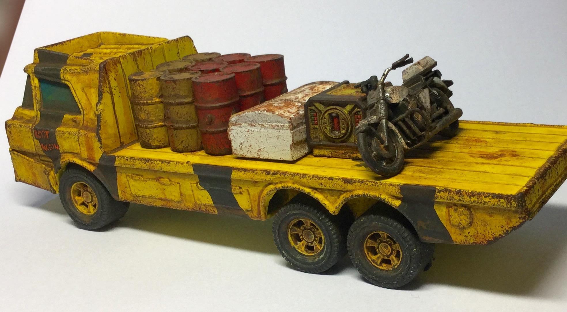 Ash Wastes, Civilian, Fallout, Post Apocalypse, Raiders, Truck