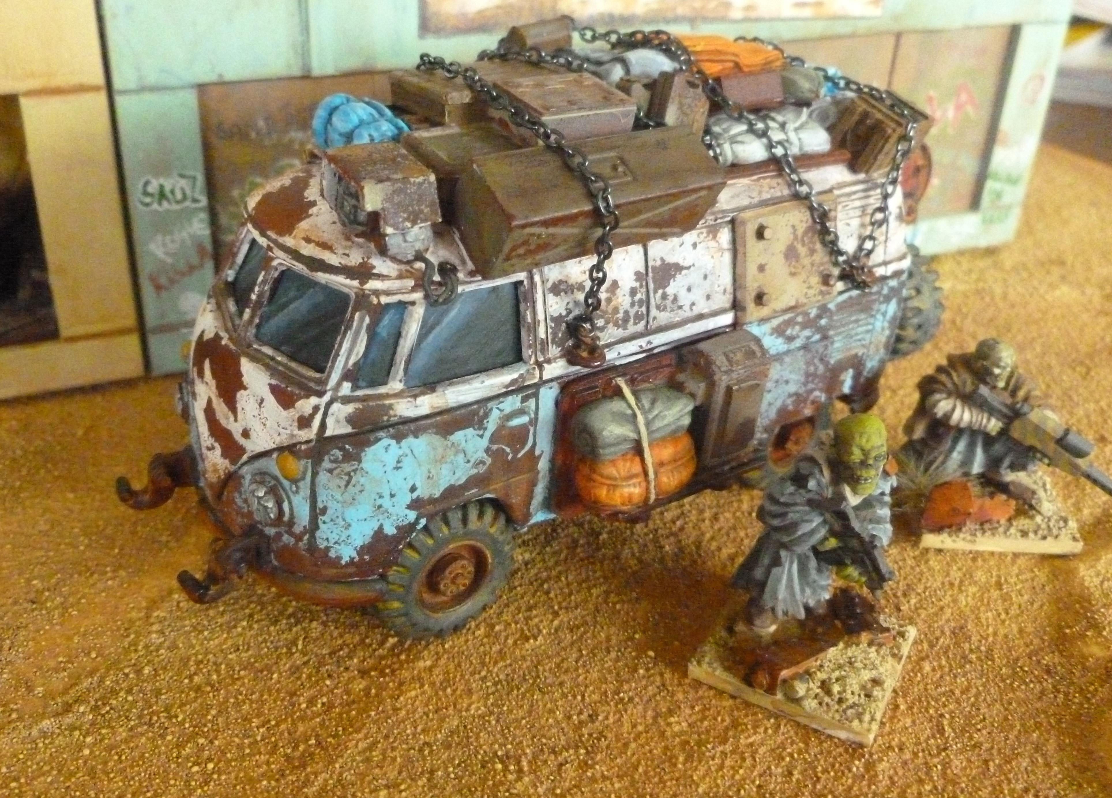 Post Apocalyptic Camper