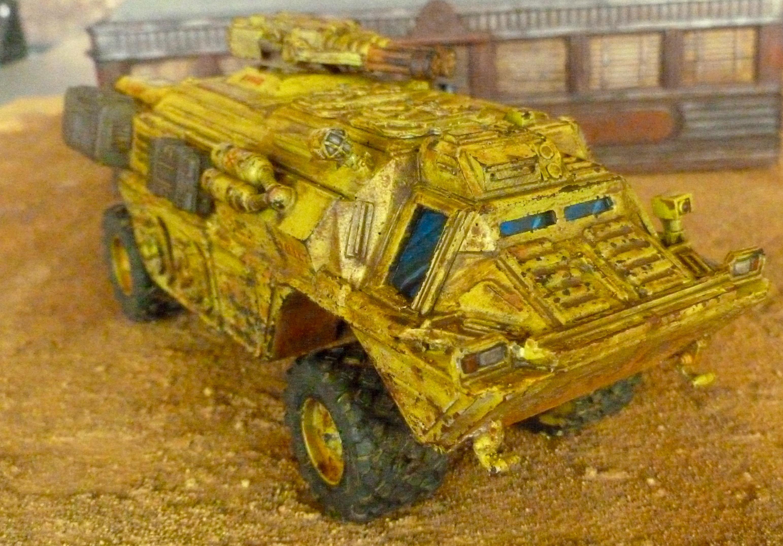 Rad Pig - Valut Dweller vehicle