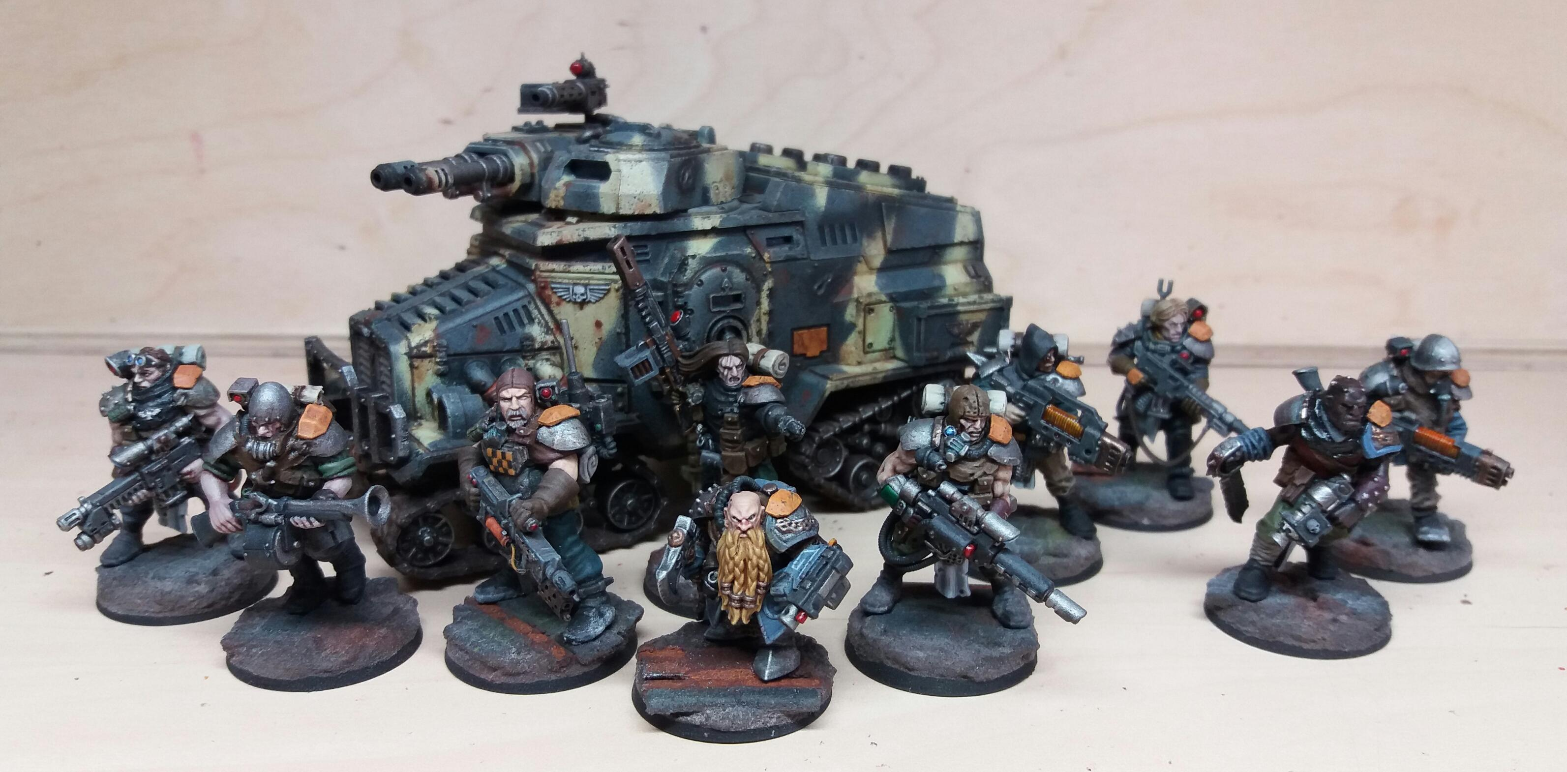 Astra Militarum, Imperial Guard, Inq28, Mercenary, Veteran