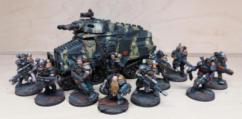 Astra Militarum, Imperial Guard, Inq28, Mercenary, Veteran