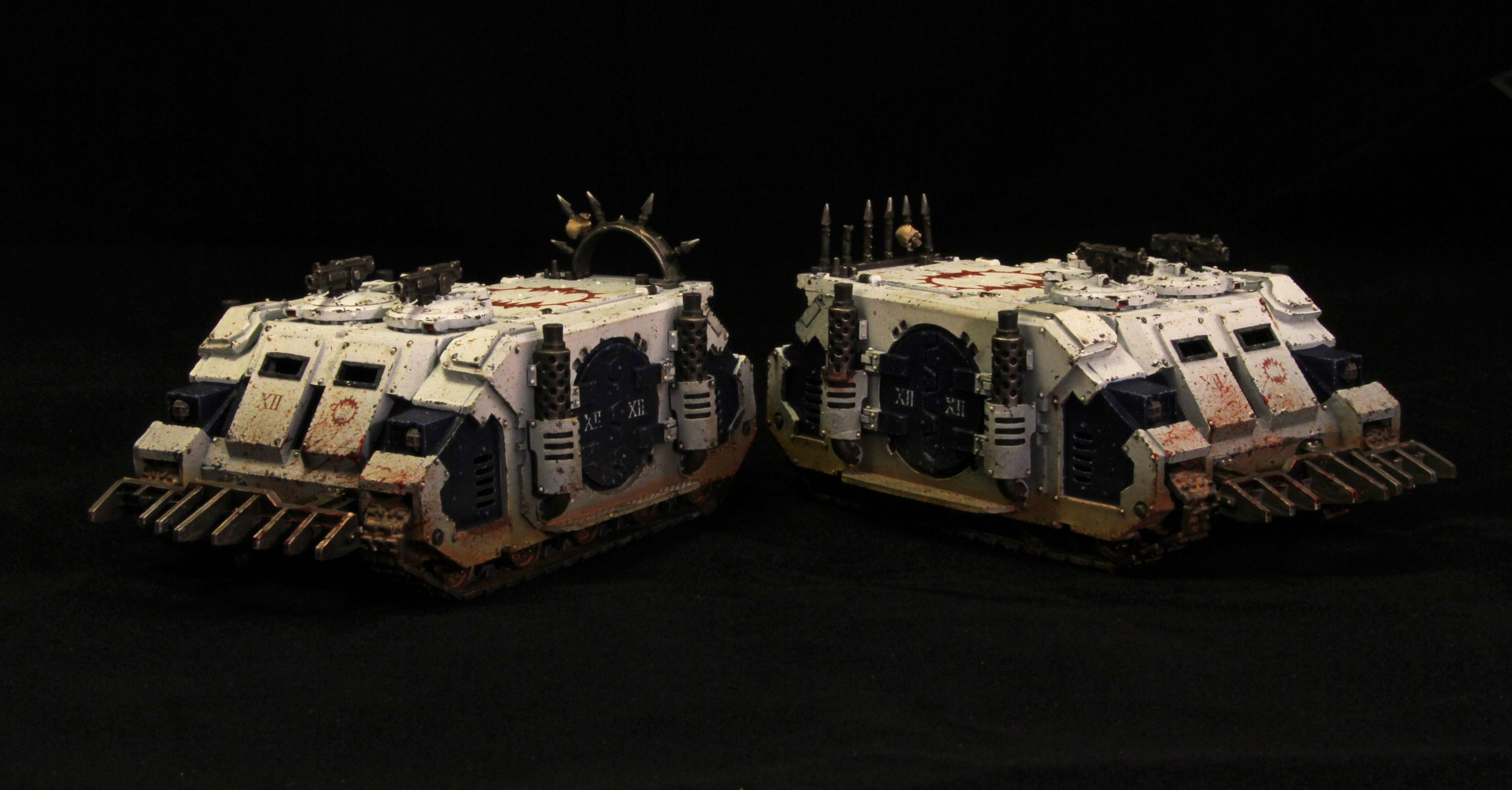 30k, Horus Heresy, Rhino, World Eaters