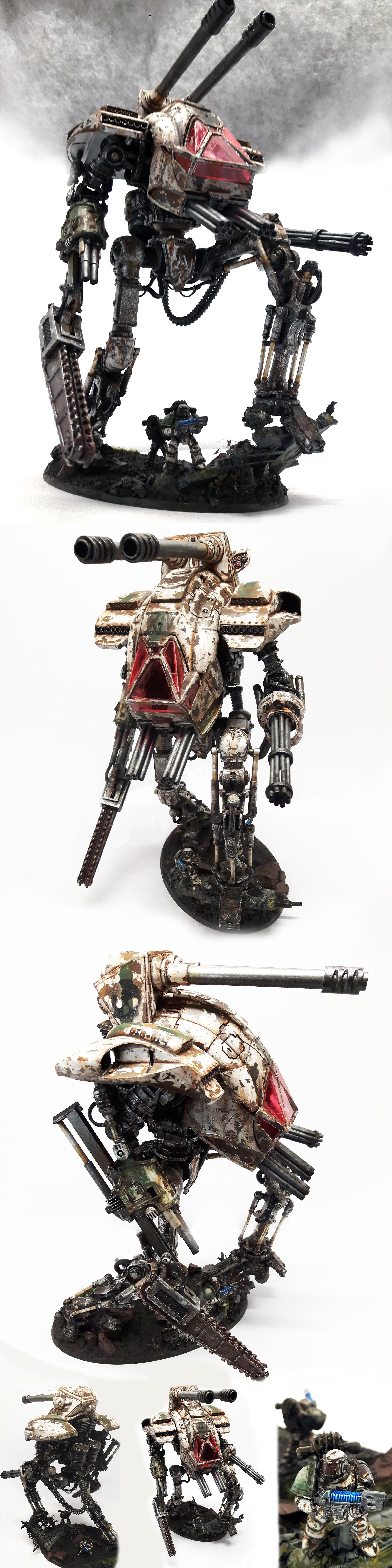 Cerastus, Chipping, Conversion, Death Guard, Destruction, Diorama, Imperial, Knights, Mecha, Pre Heresy, Rust, Scratch, Space Marines, Titan, Weathered